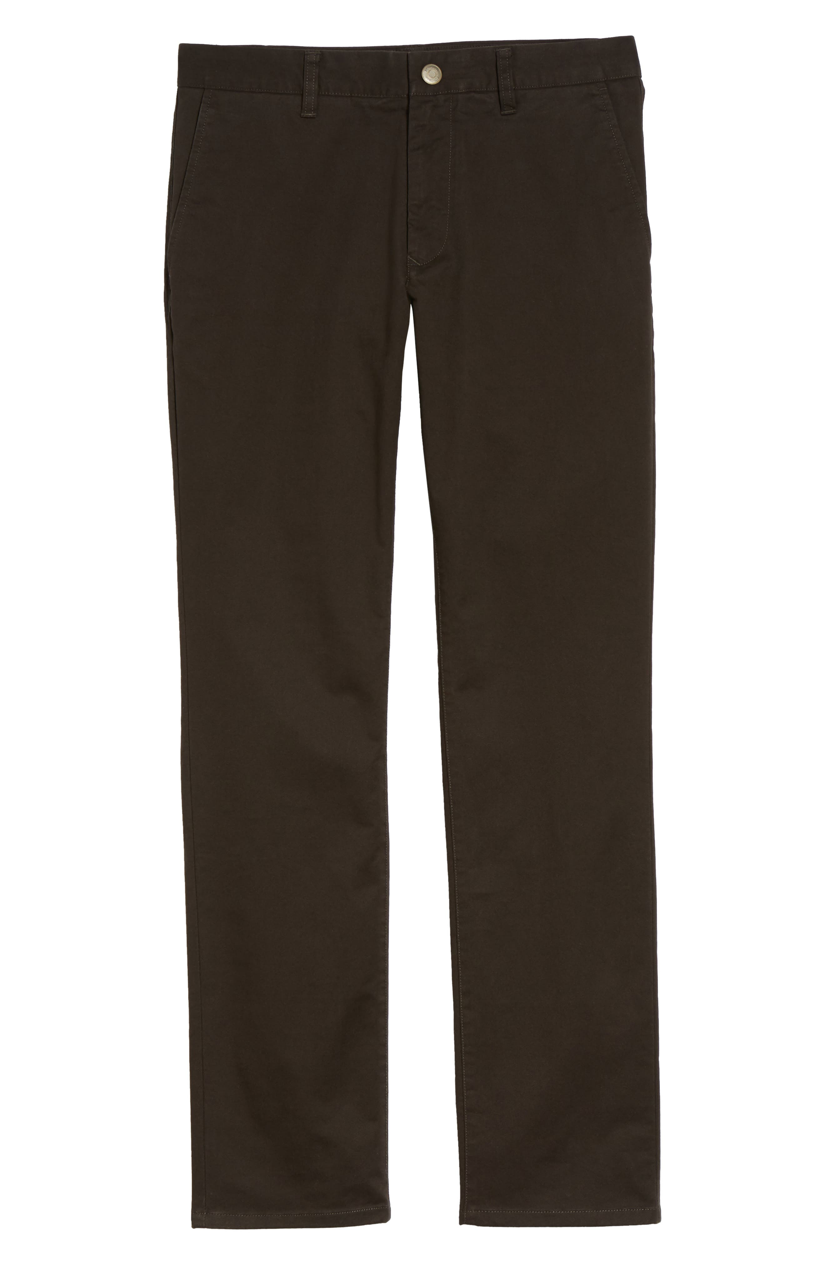 Tailored Fit Washed Stretch Cotton Chinos,                             Alternate thumbnail 177, color,