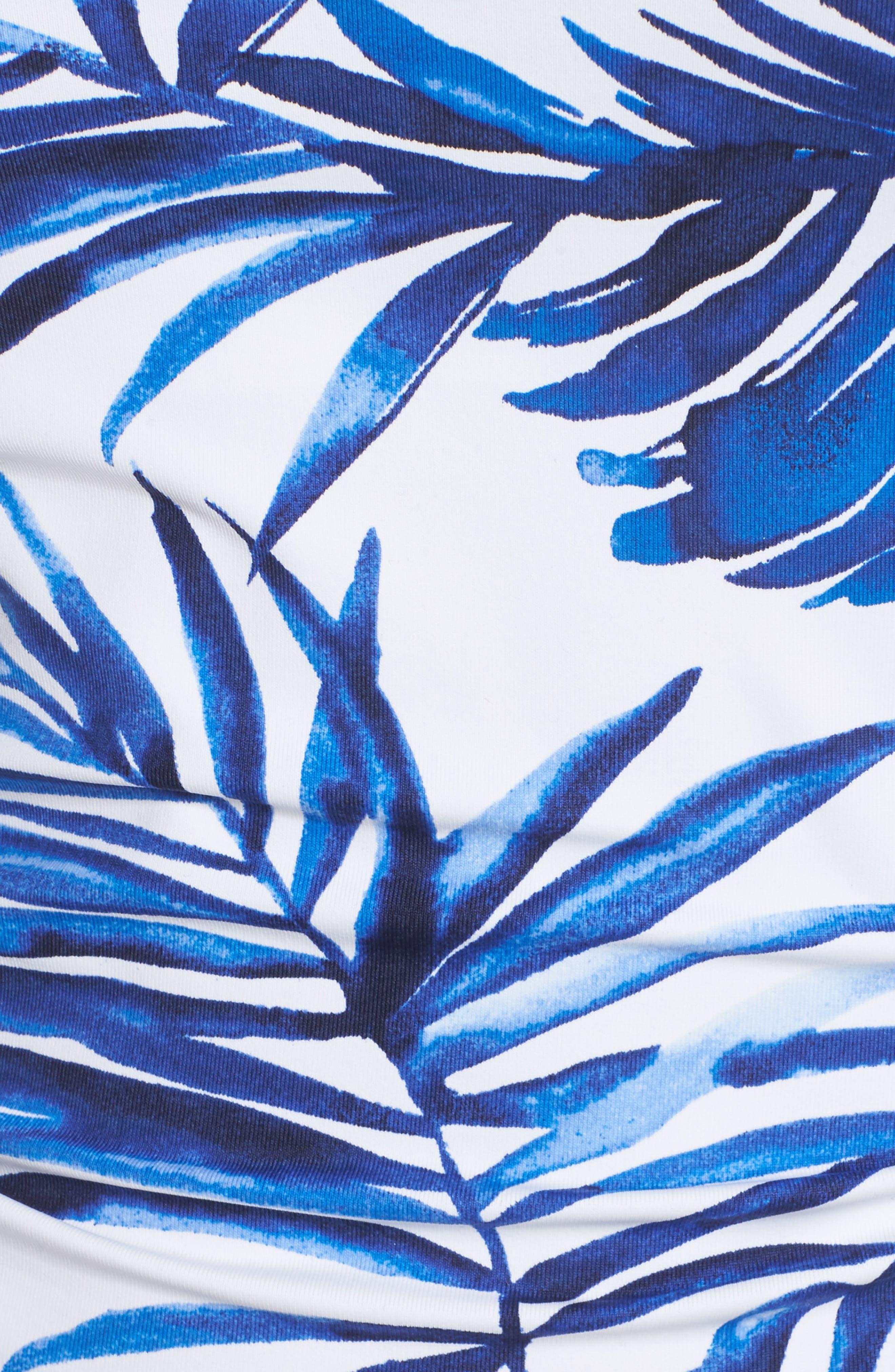 Fuller Fronds Bandini Top,                             Alternate thumbnail 5, color,                             WHITE