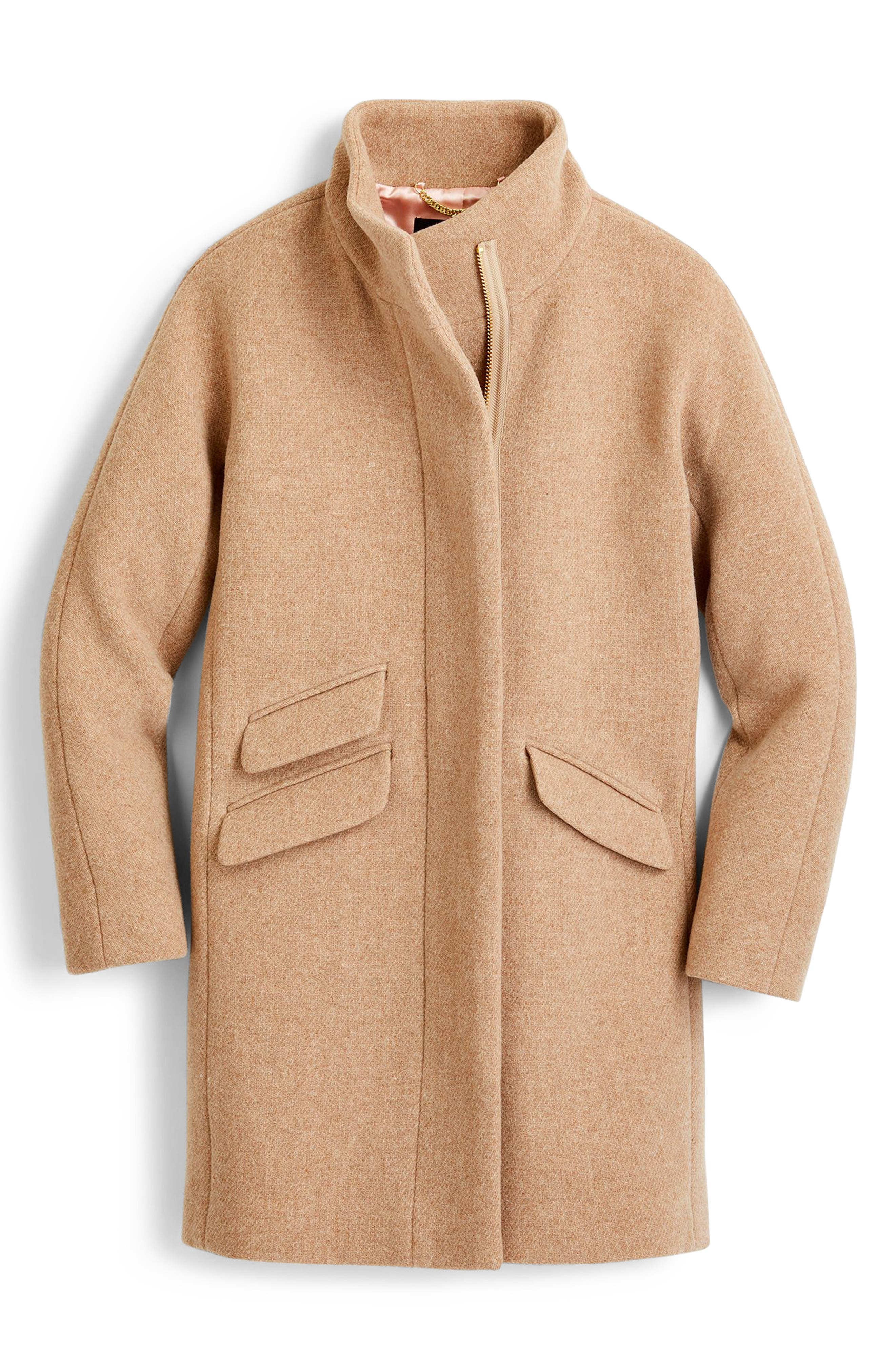 Stadium Cloth Cocoon Coat,                             Alternate thumbnail 48, color,