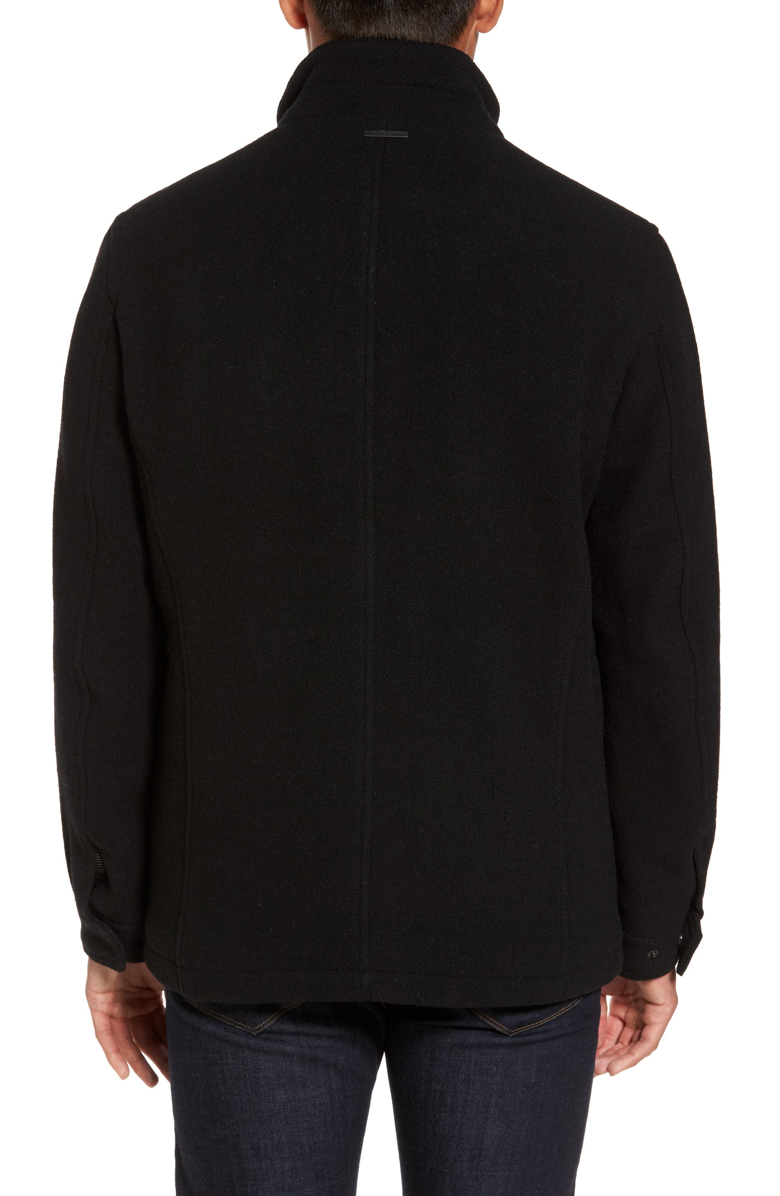 Regular Fit Double Layer Field Jacket,                             Alternate thumbnail 2, color,                             001
