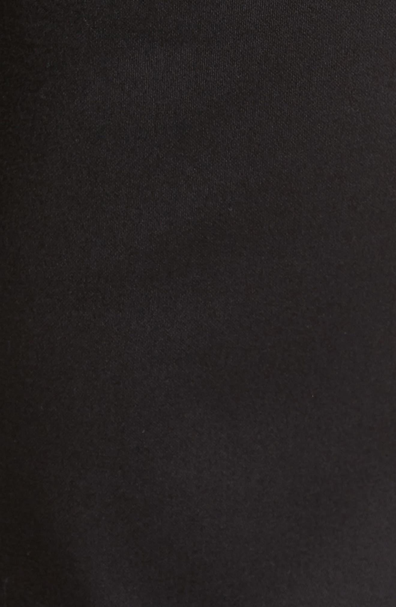 Courage Straight Leg Jeans,                             Alternate thumbnail 5, color,                             SELECT DOUBLE BLACK