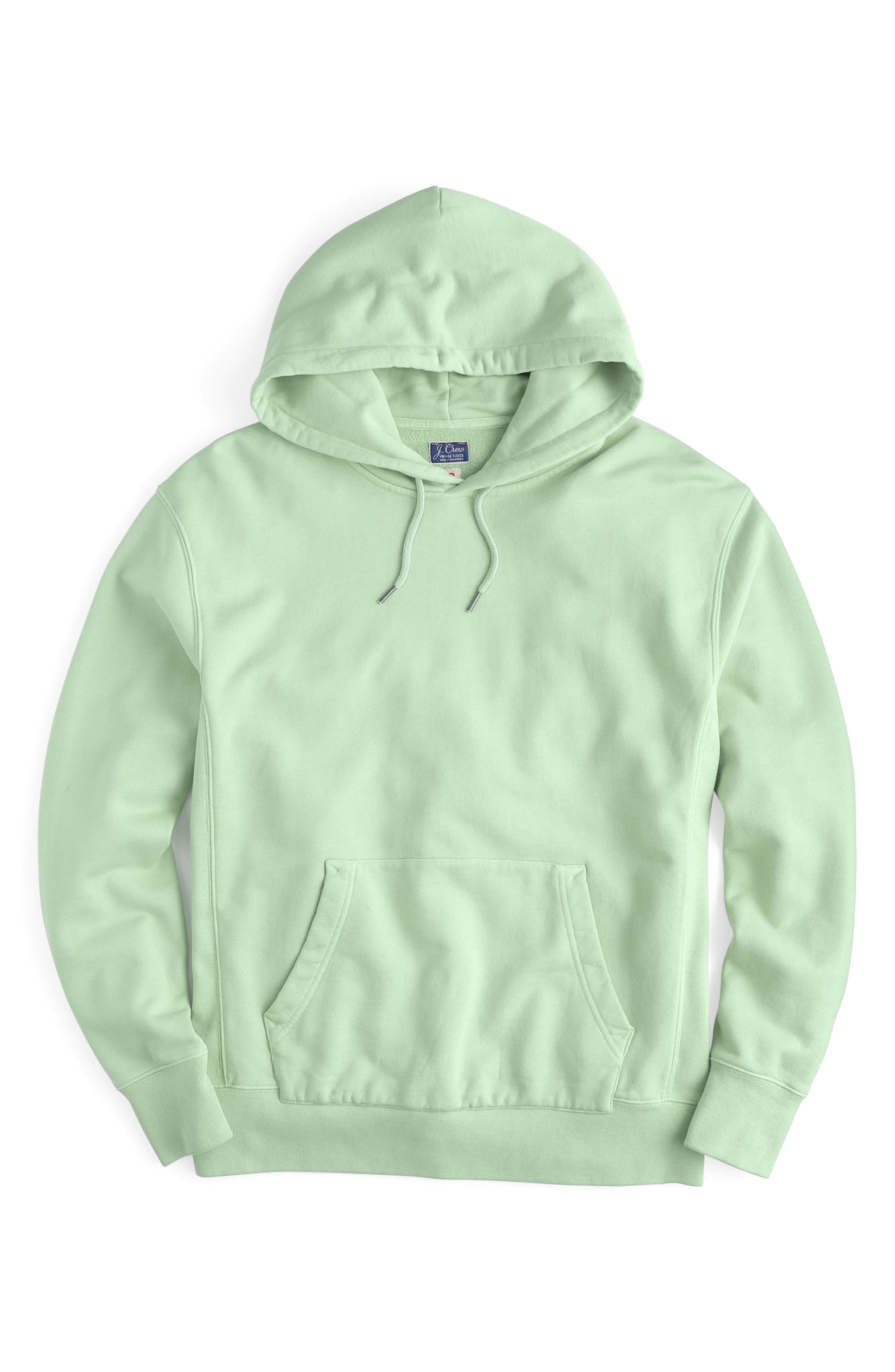 Garment Dyed French Terry Hoodie,                             Main thumbnail 2, color,