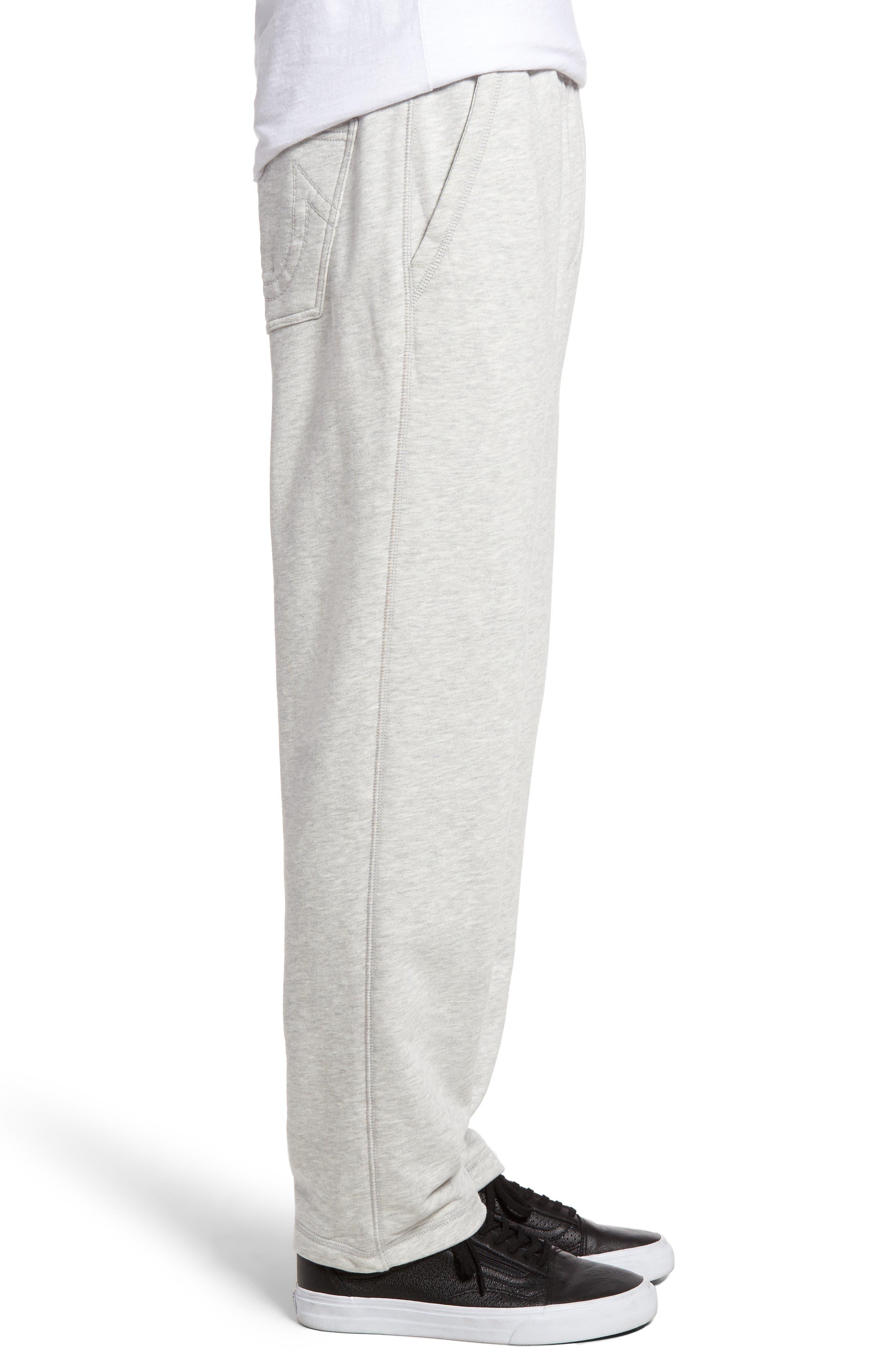 Open Leg Sweatpants,                             Alternate thumbnail 8, color,