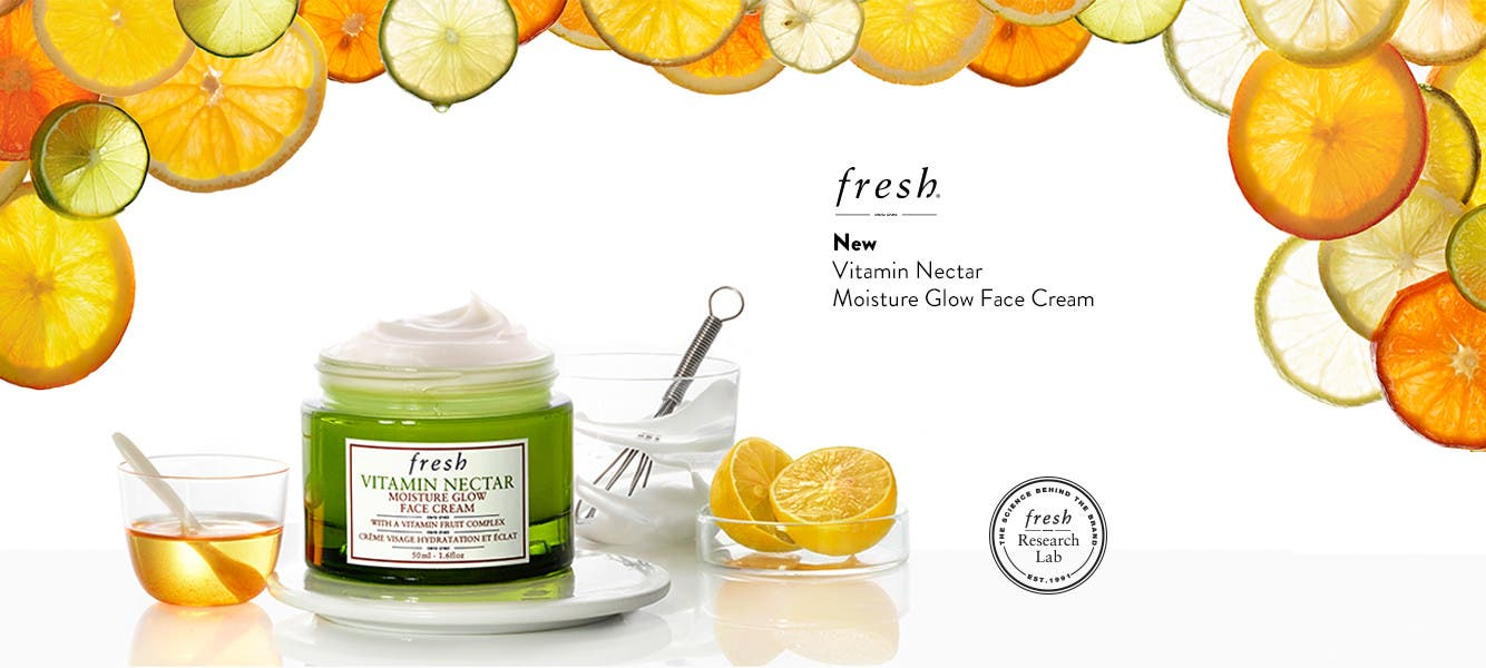 New Vitamin Nectar Moisture Glow.