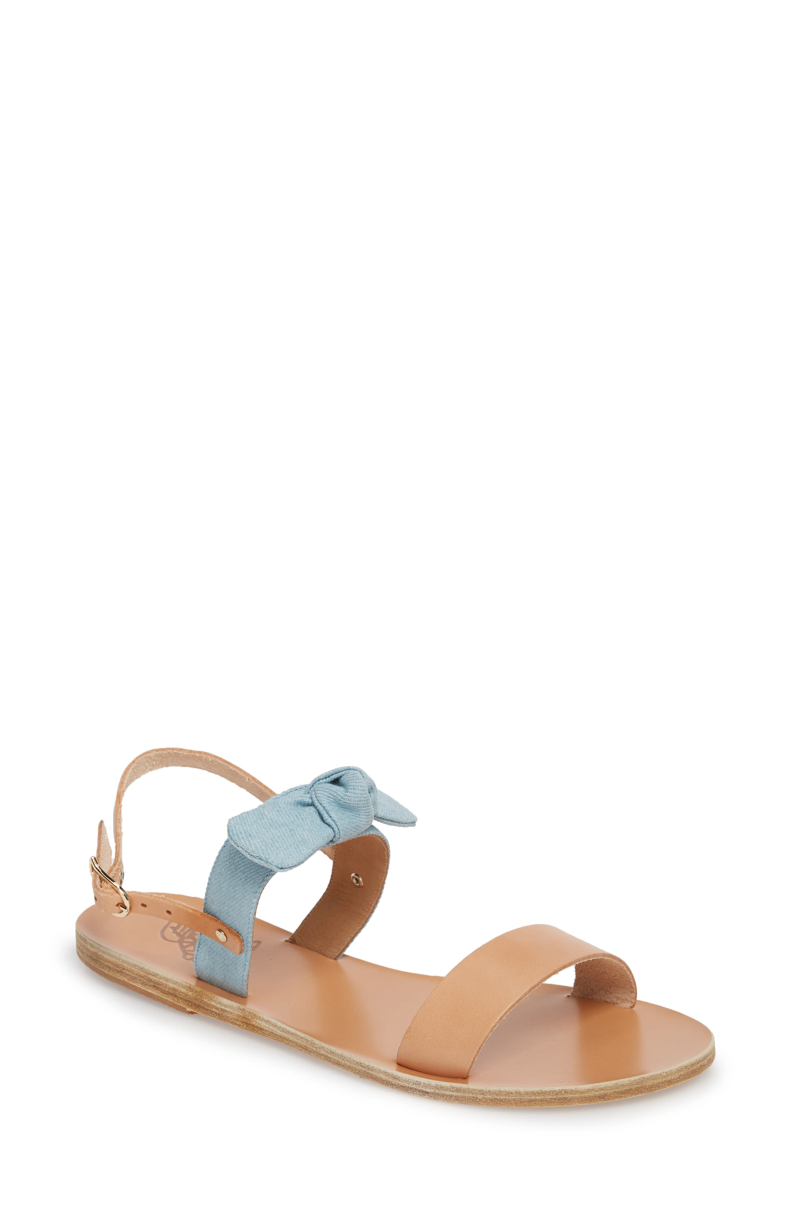 Clio Bow Sandal,                             Main thumbnail 1, color,
