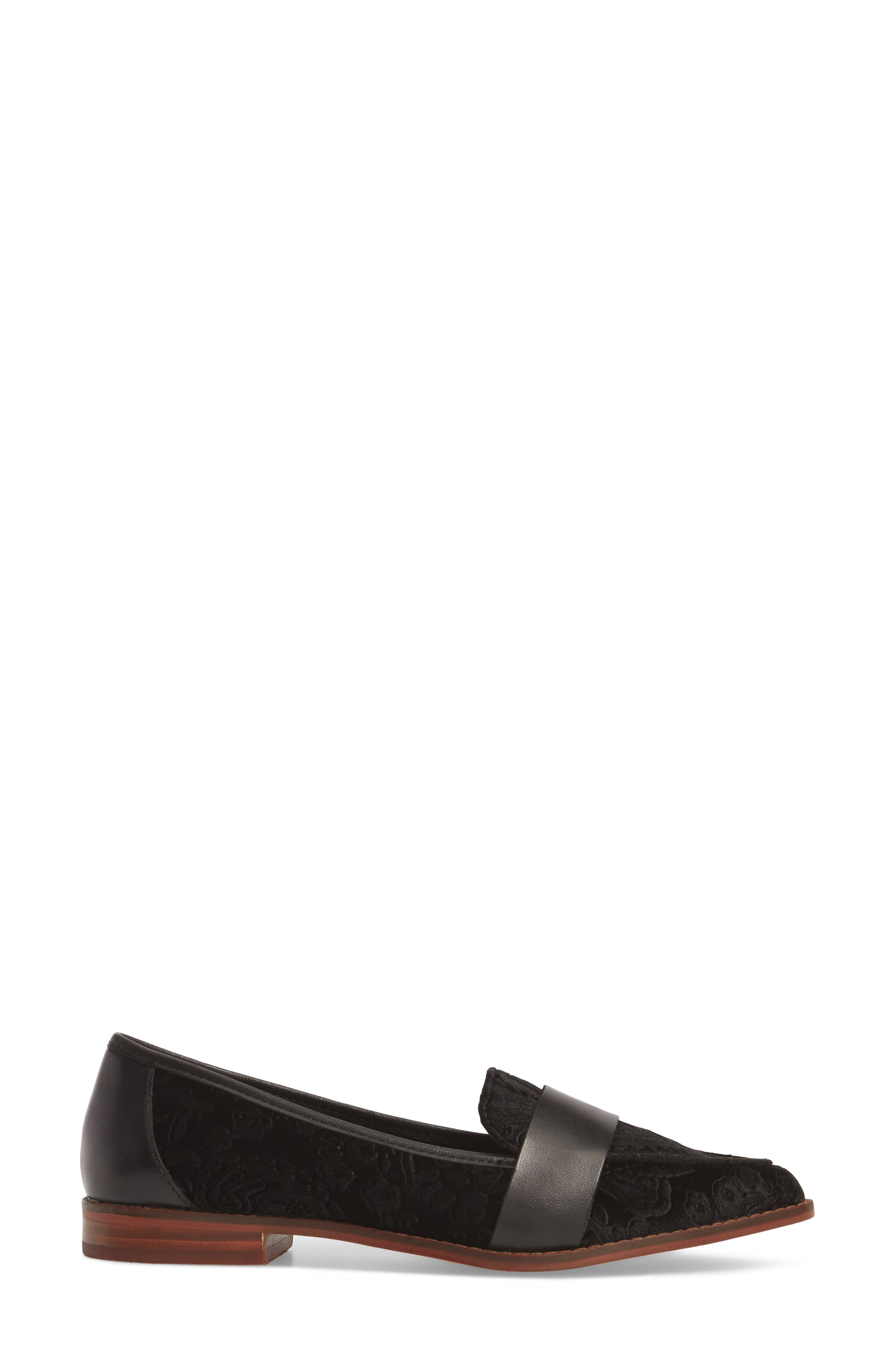 Edie Pointy Toe Loafer,                             Alternate thumbnail 24, color,