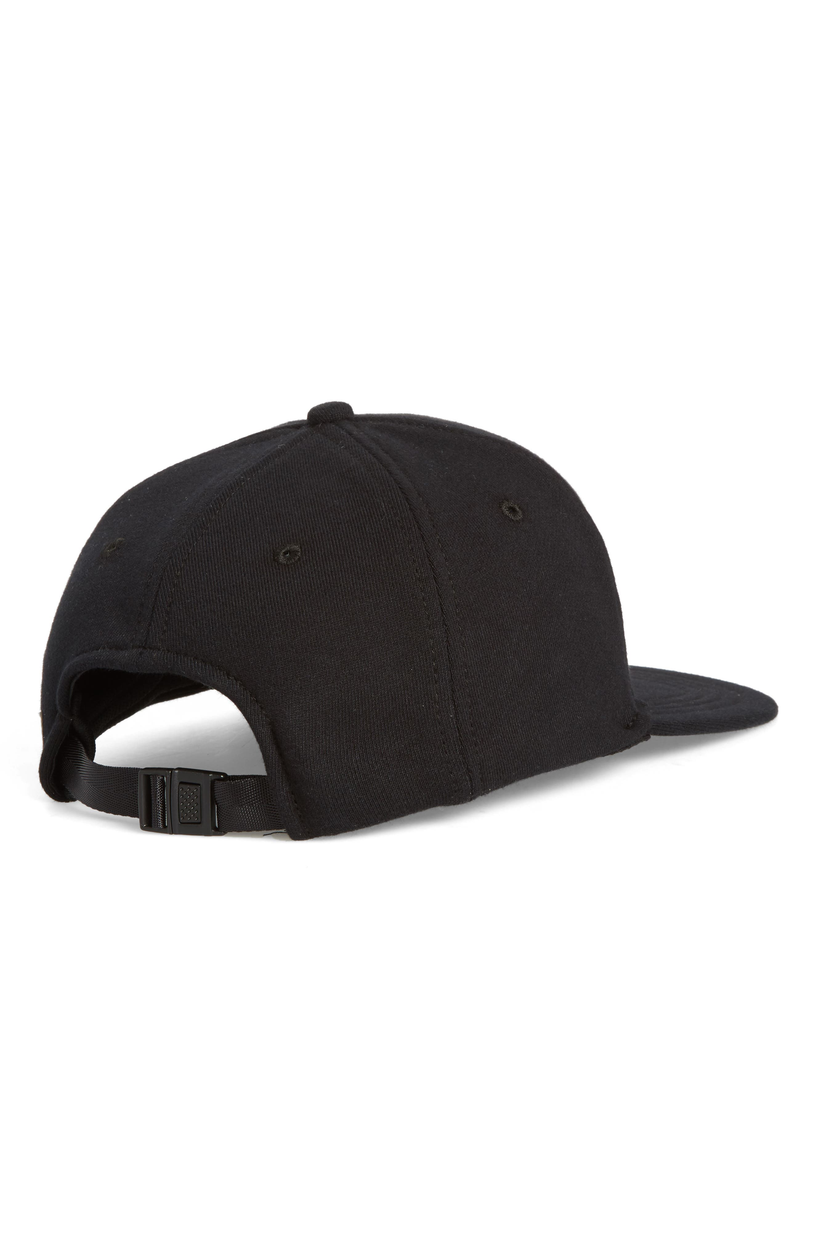 Baseball Cap,                             Alternate thumbnail 2, color,                             BLACK