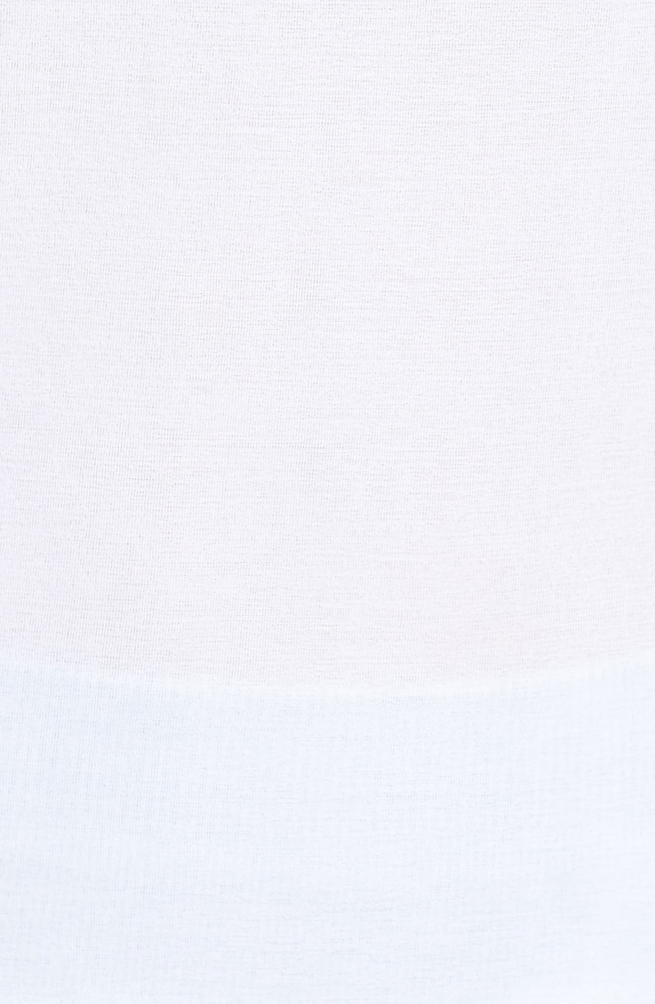 Graphic Long Sleeve Tee,                             Alternate thumbnail 6, color,                             WHITE