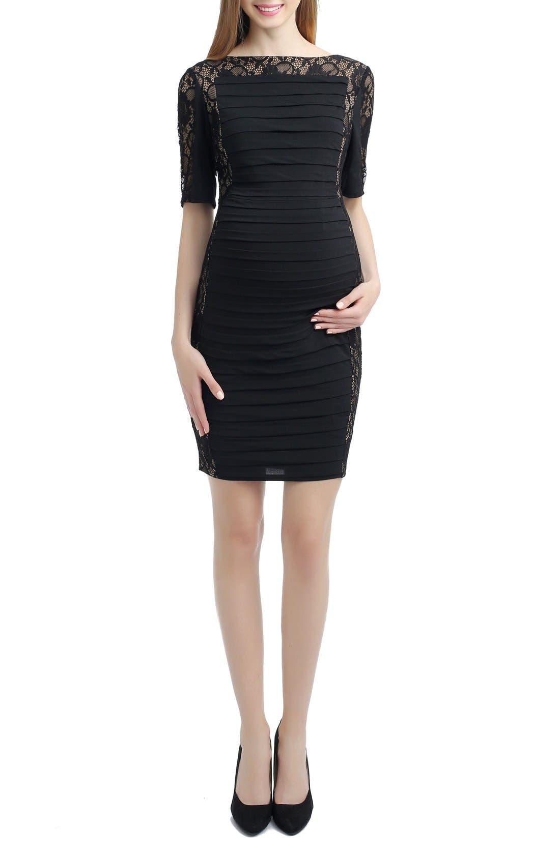 Estelle Lace Maternity Dress,                         Main,                         color,