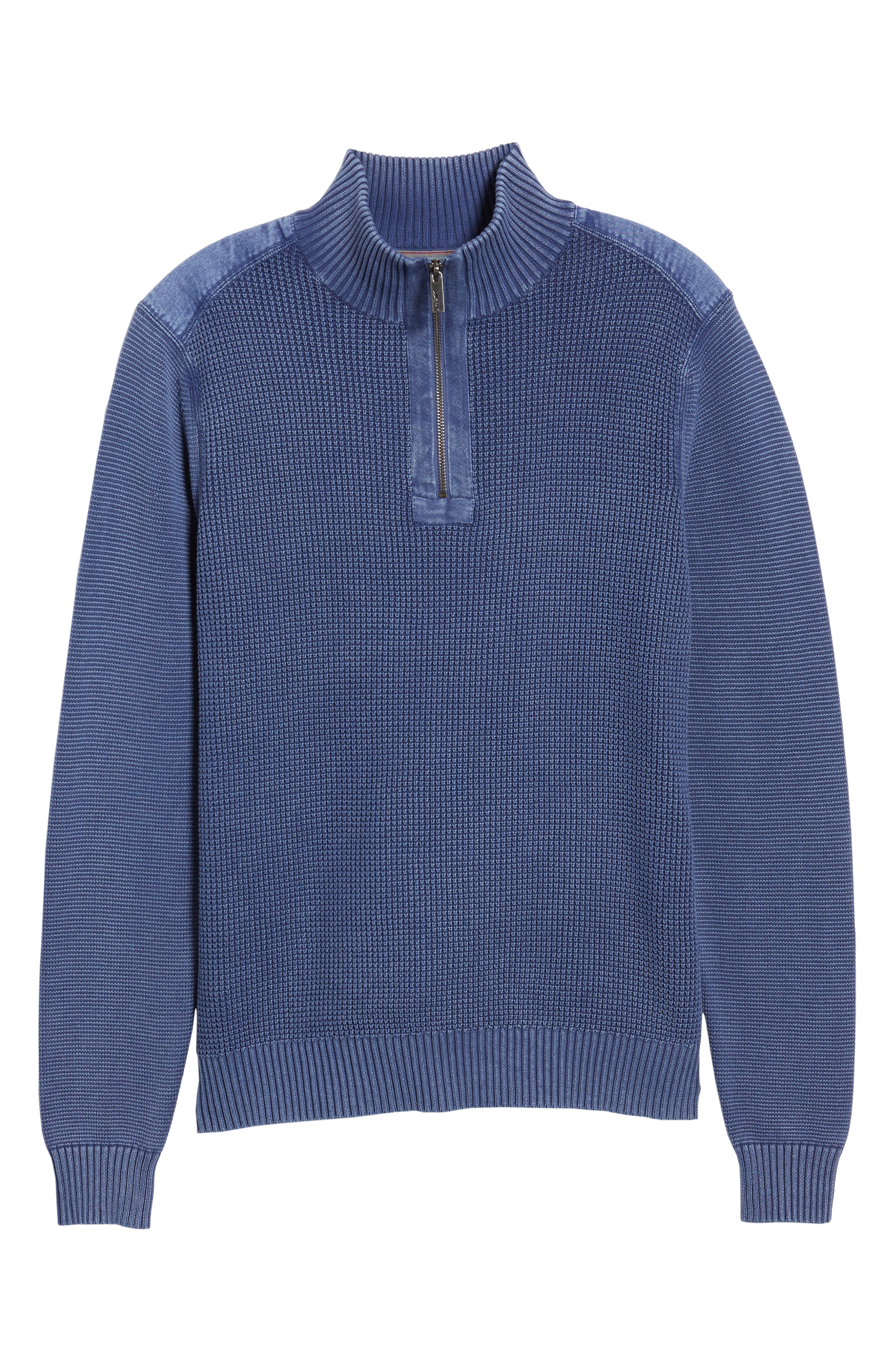Coastal Shores Quarter Zip Sweater,                             Alternate thumbnail 33, color,