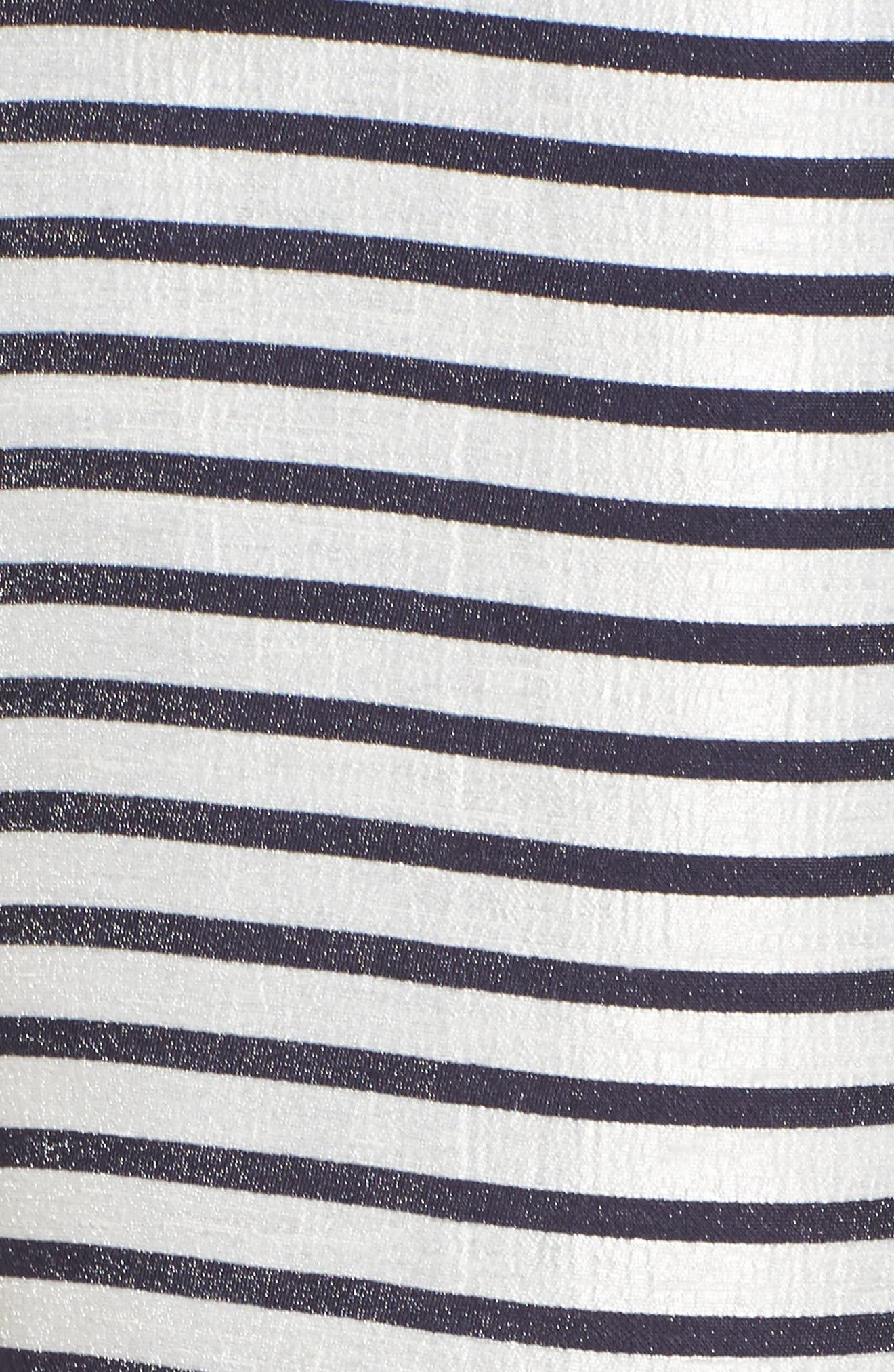 BB Dakota Grace Stripe Two-Piece Dress,                             Alternate thumbnail 5, color,                             900
