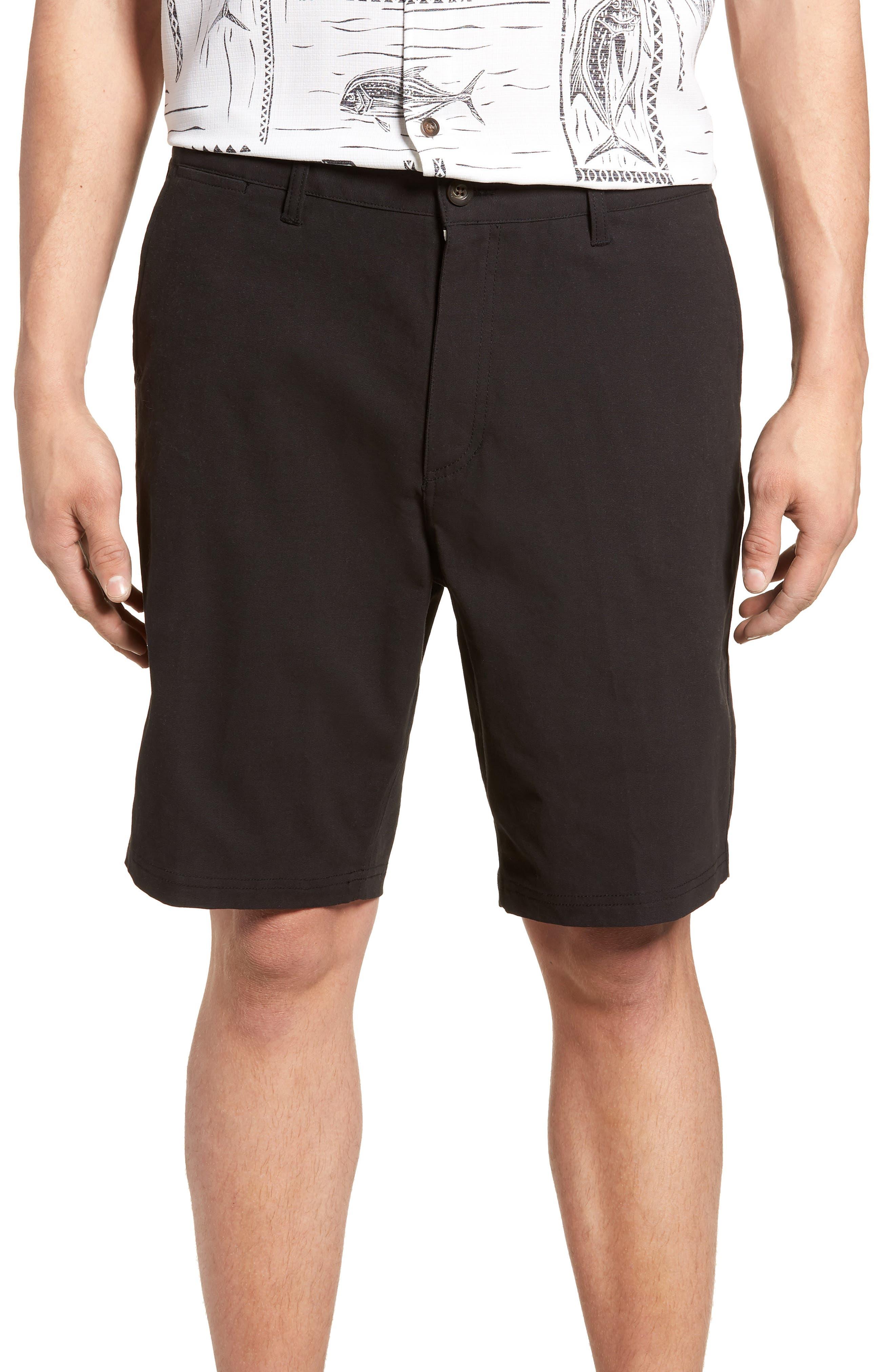 Port Shorts,                         Main,                         color, BLACK