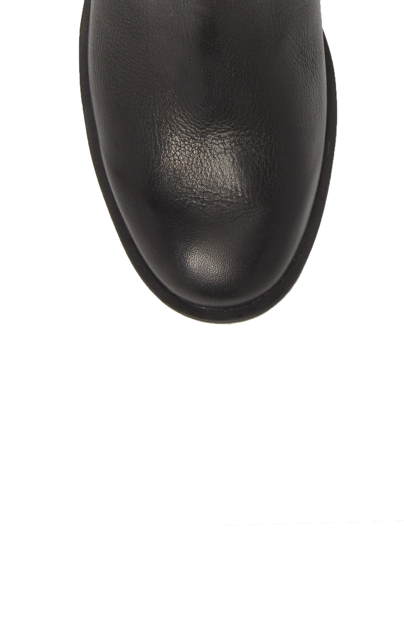 Phoenix Moto Waterproof Boot,                             Alternate thumbnail 5, color,                             BLACK