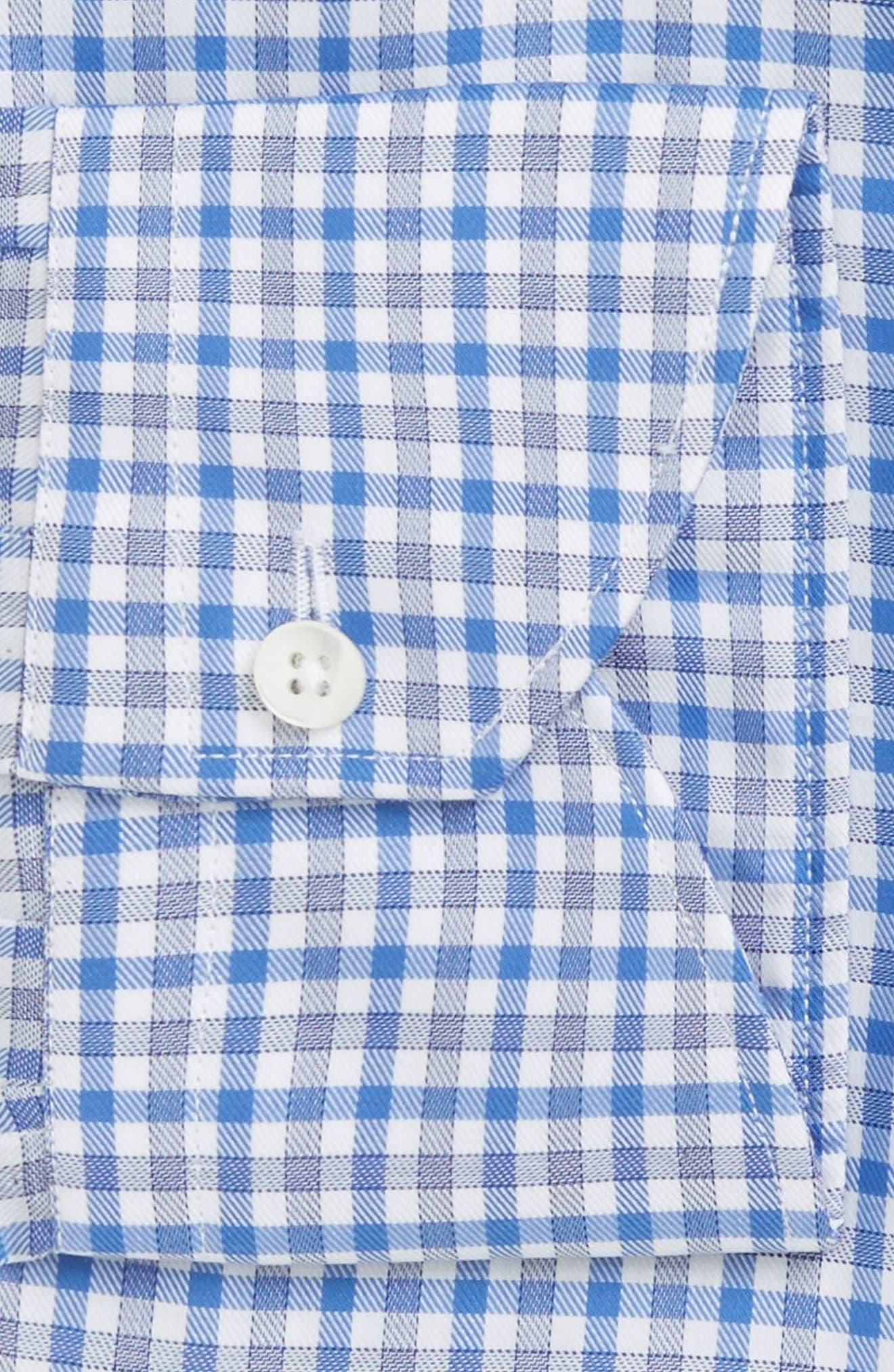 Regular Fit Check Dress Shirt,                             Alternate thumbnail 2, color,                             420