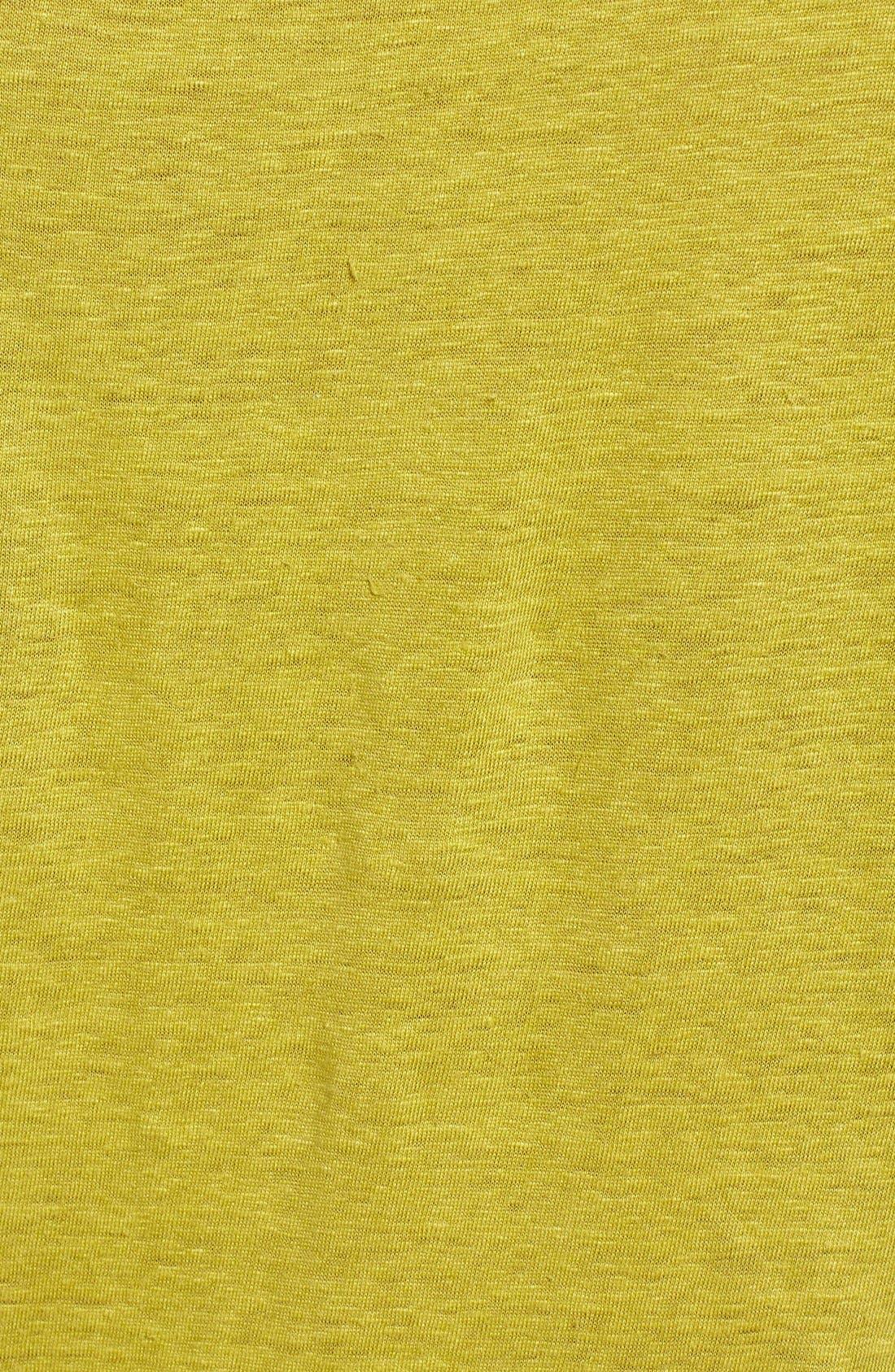 Bateau Neck Organic Linen Tunic,                             Alternate thumbnail 78, color,