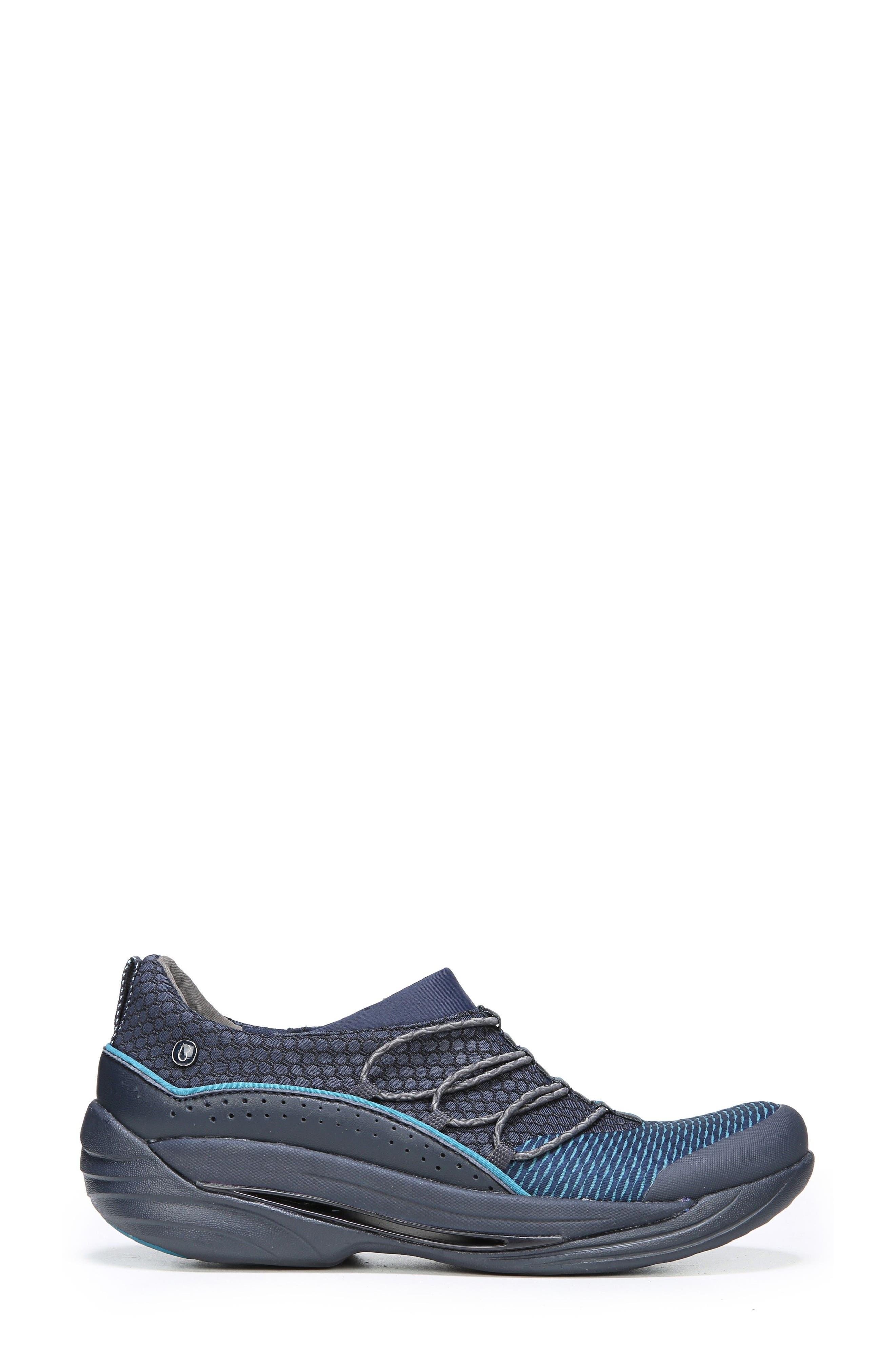 Pisces Slip-On Sneaker,                             Alternate thumbnail 3, color,                             NAVY