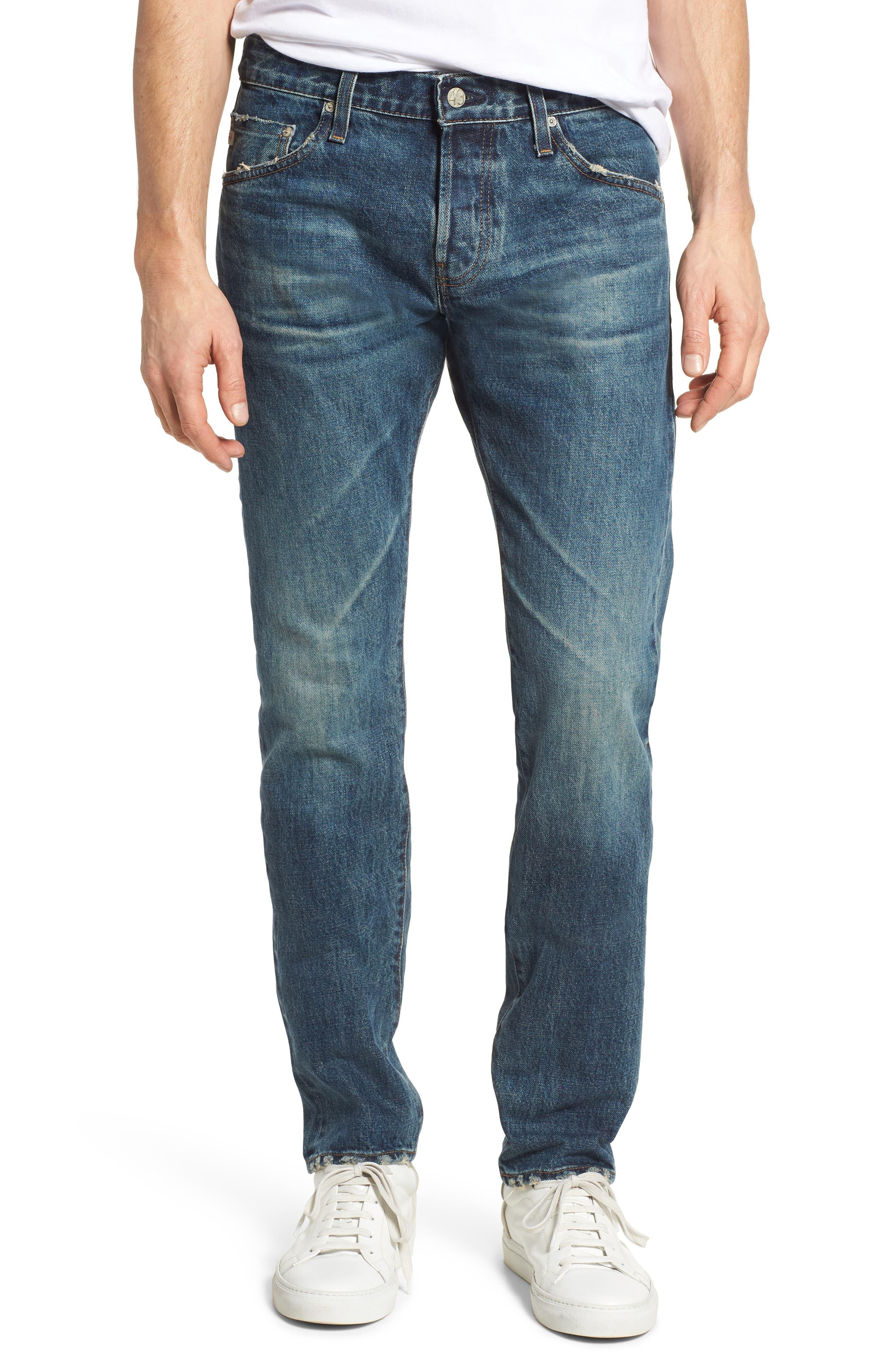 Tellis Slim Fit Jeans,                             Main thumbnail 1, color,                             417