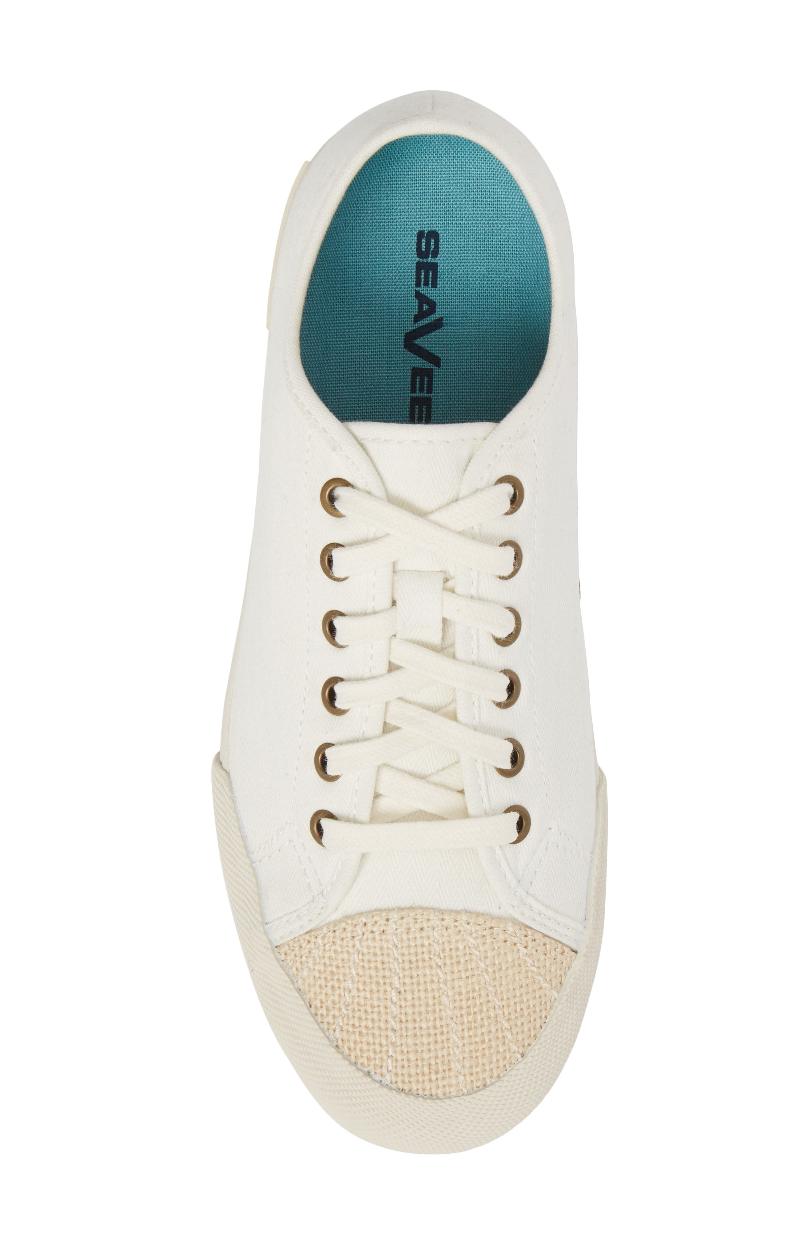 Army Issue Low Top Sneaker,                             Alternate thumbnail 5, color,                             BLEACH