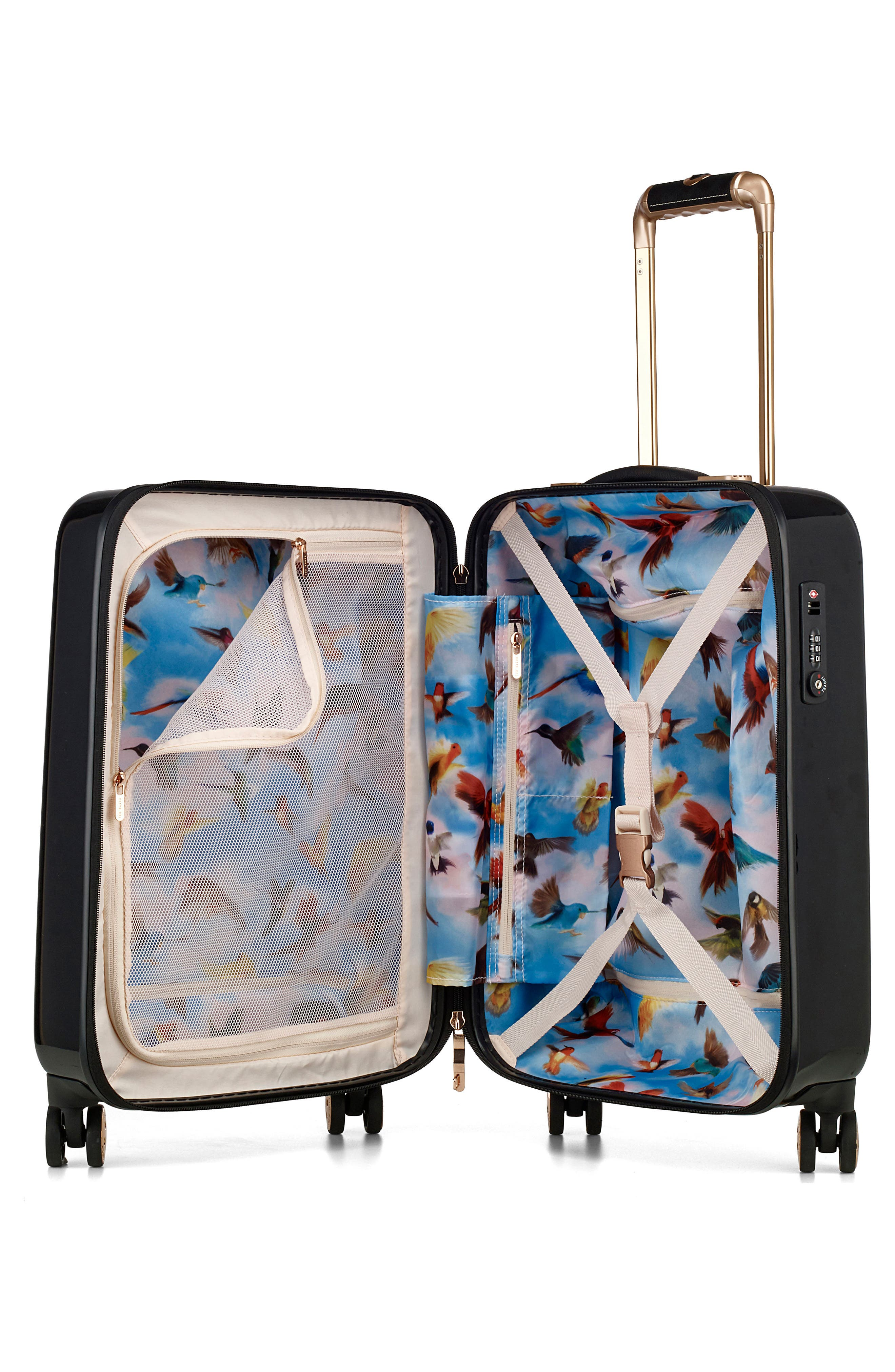 Small 21-Inch Four-Wheel Suitcase,                             Alternate thumbnail 2, color,                             001
