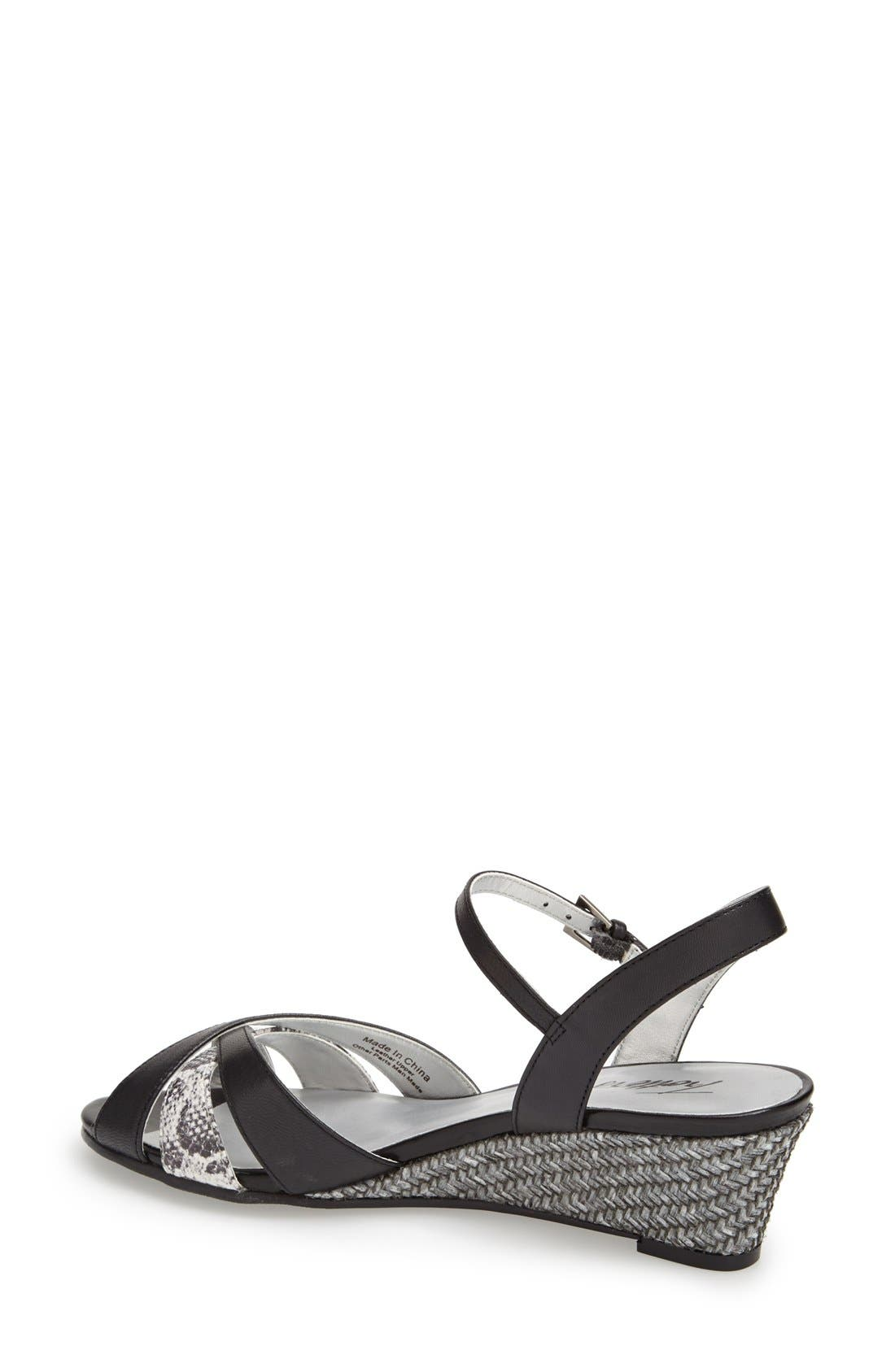 'Mickey' Wedge Sandal,                             Alternate thumbnail 34, color,