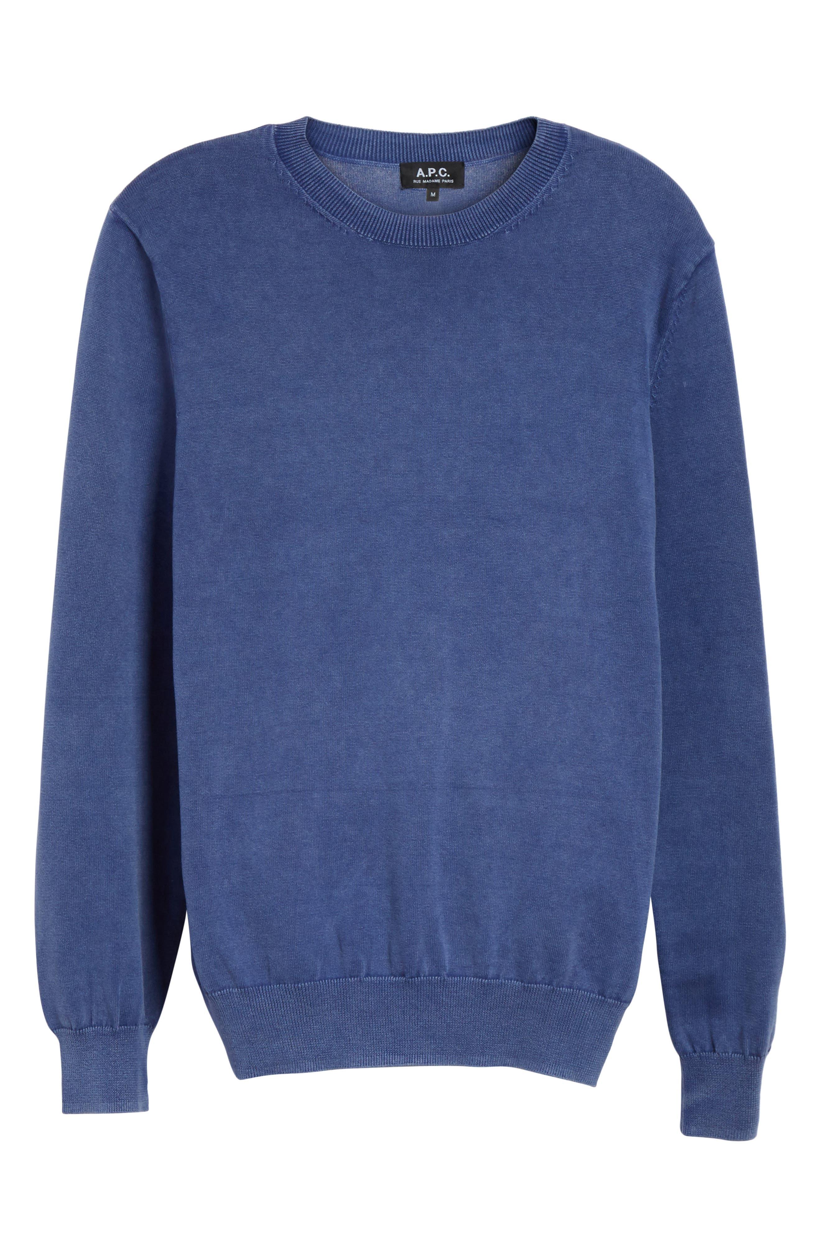 Marvin Crewneck Sweater,                             Alternate thumbnail 6, color,                             410