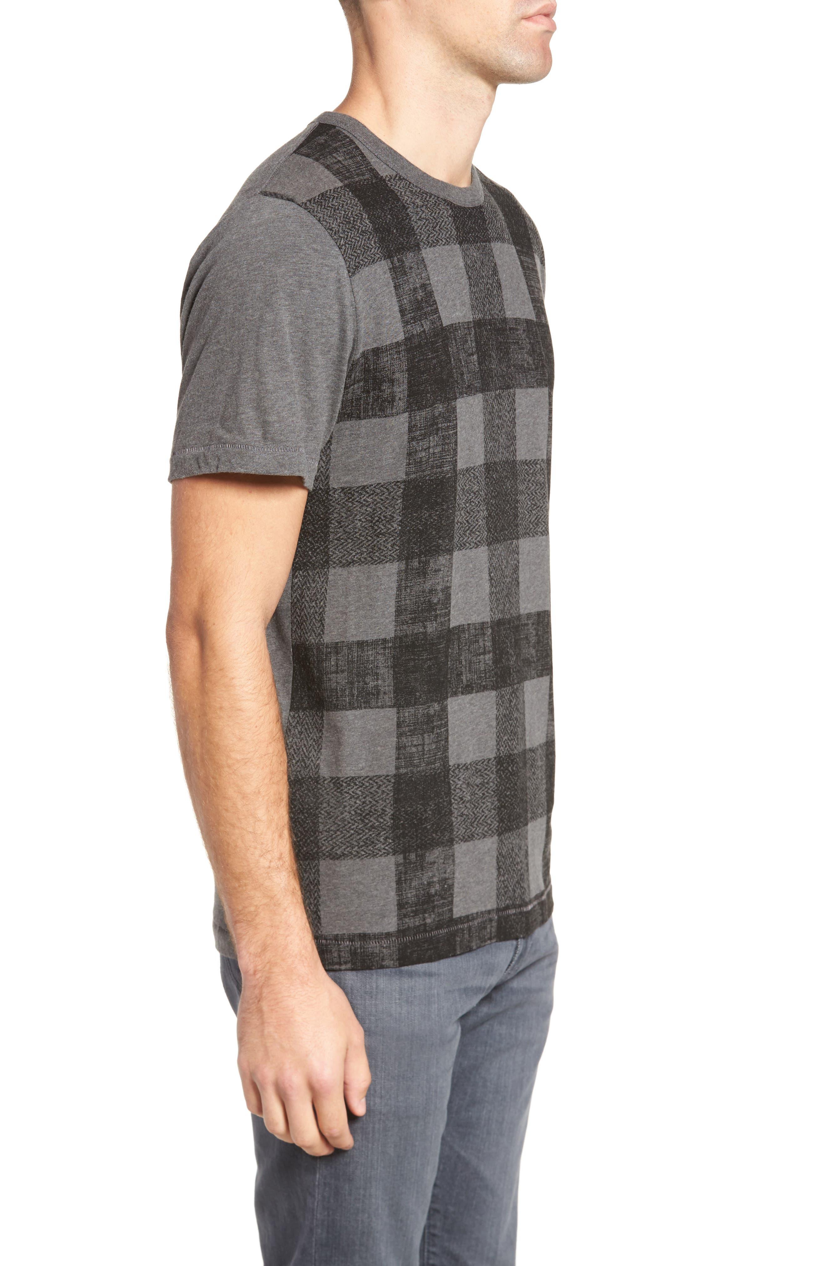 Texas Check Regular Fit T-Shirt,                             Alternate thumbnail 3, color,