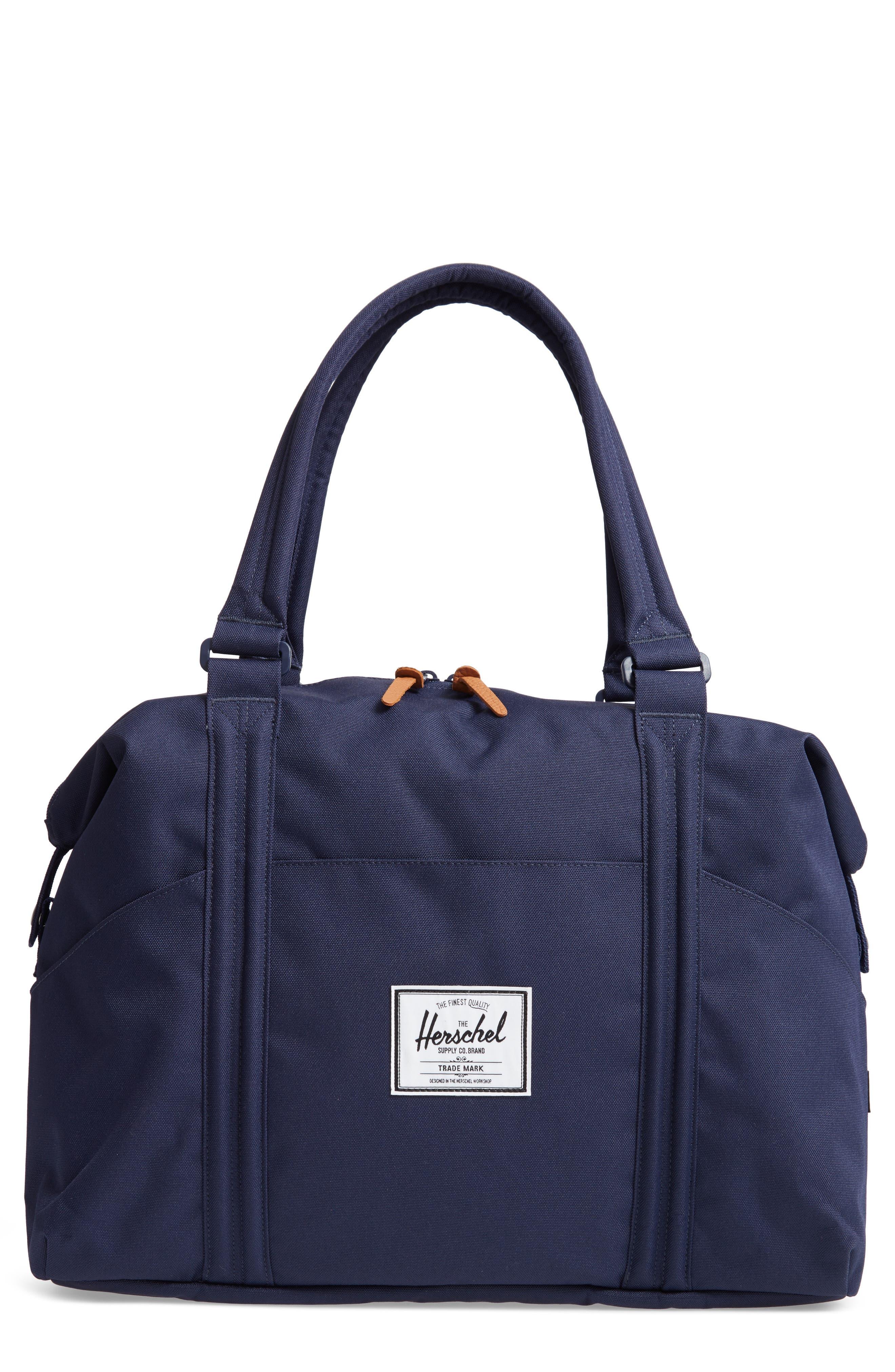 Strand Duffel Bag,                         Main,                         color, PEACOAT