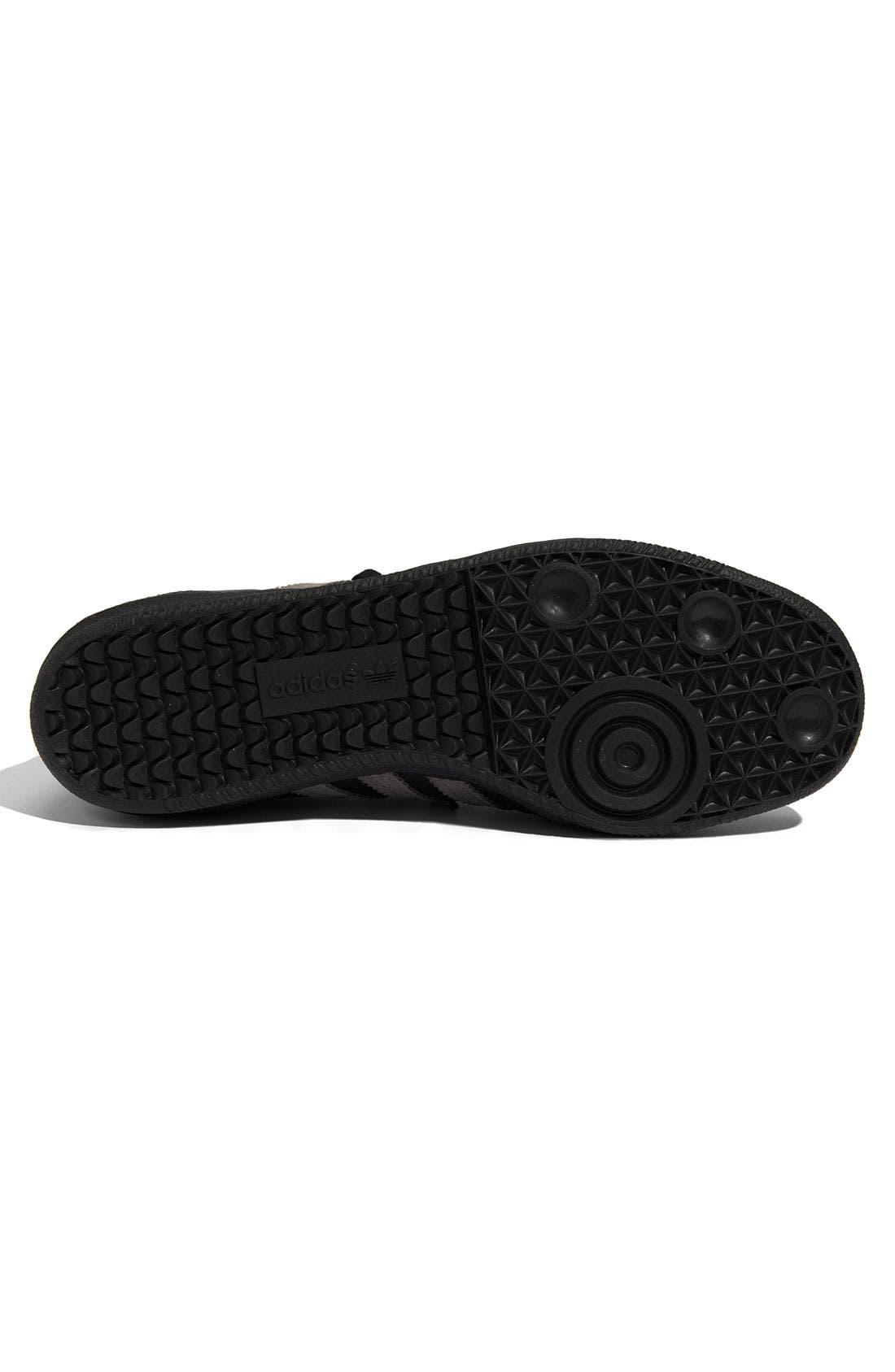 ADIDAS,                             'Samba' Sneaker,                             Alternate thumbnail 4, color,                             001