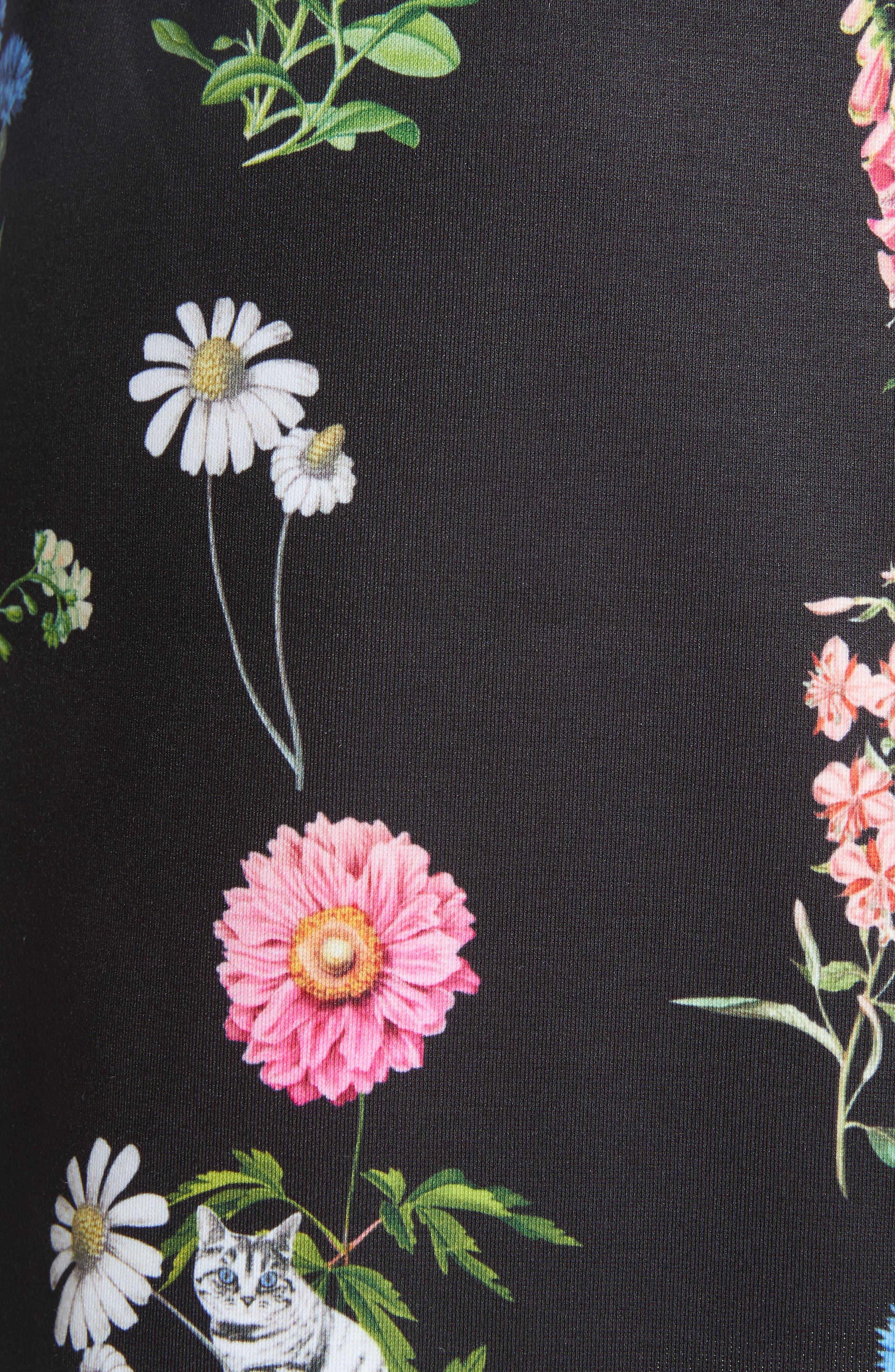 Matredi Florence Point Collar Dress,                             Alternate thumbnail 5, color,                             001