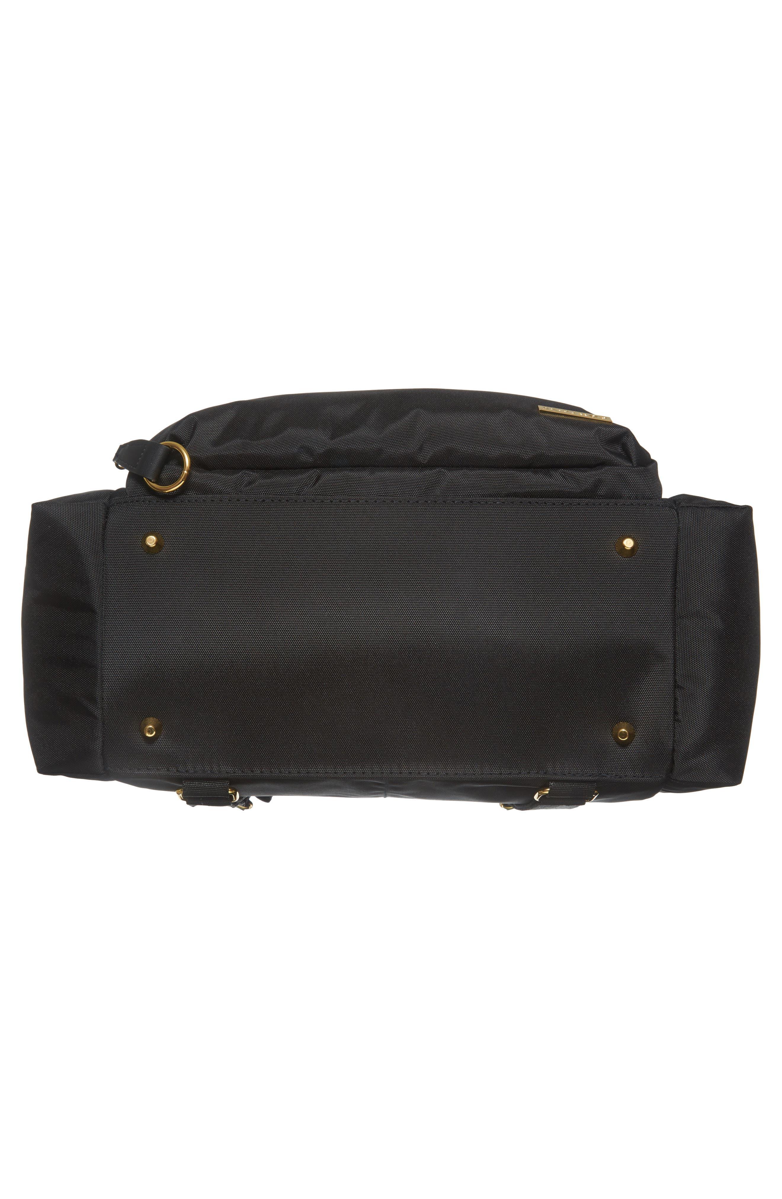 'Chelsea' Diaper Bag Backpack,                             Alternate thumbnail 6, color,                             BLACK