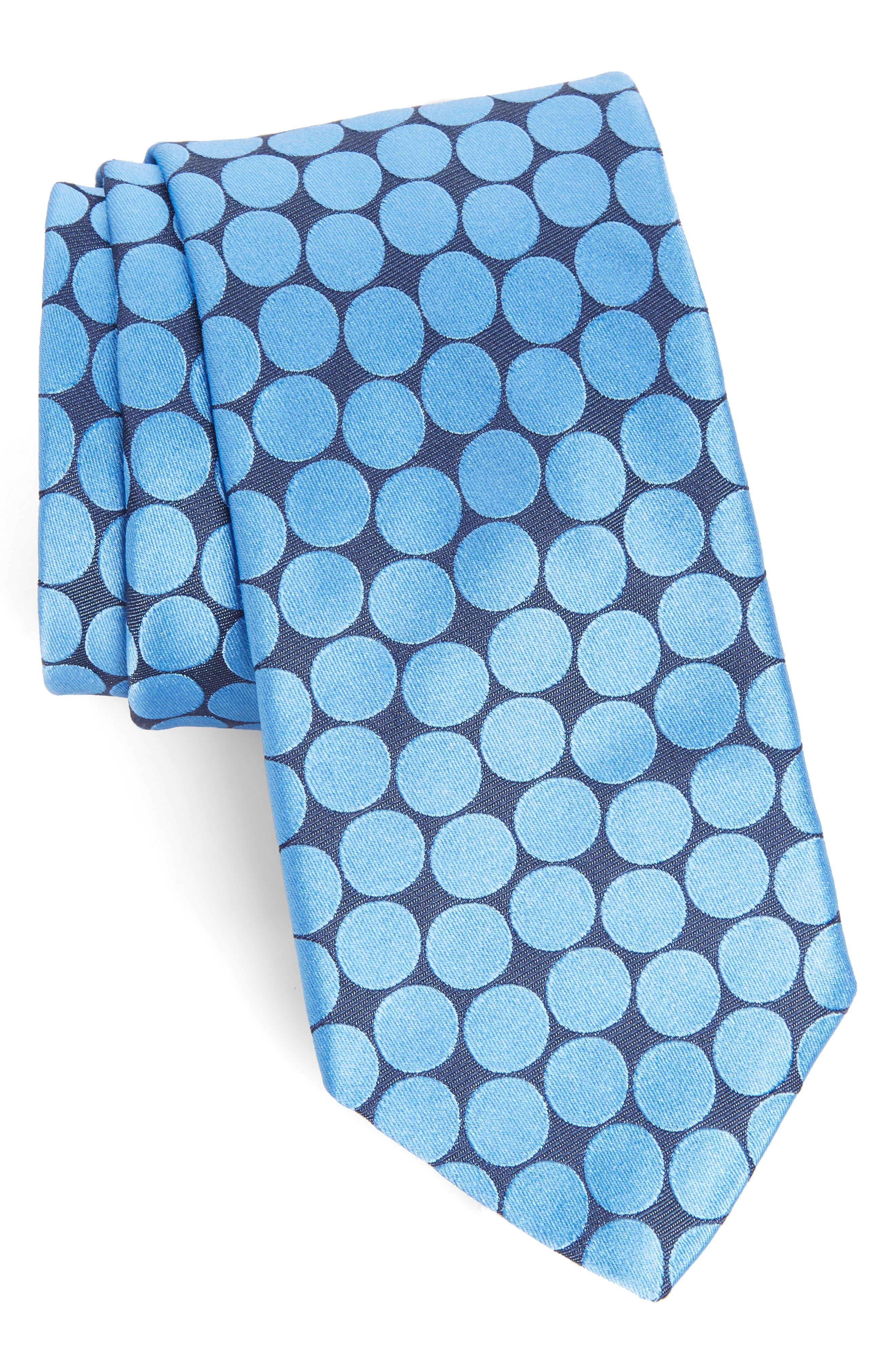 Spots II Silk Tie,                             Main thumbnail 1, color,