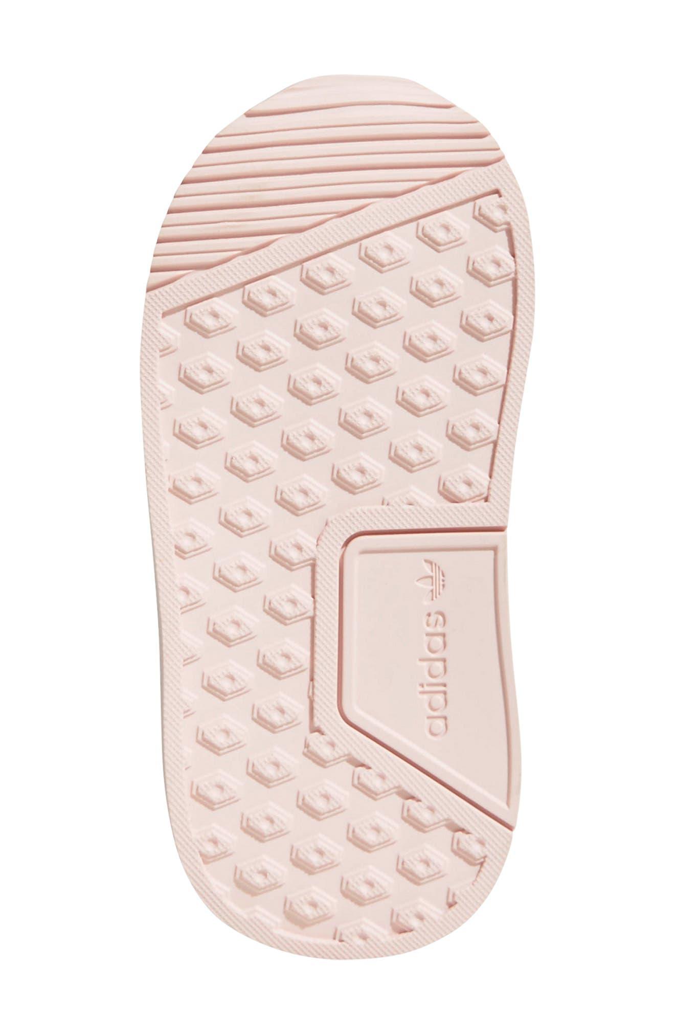 X_PLR Sneaker,                             Alternate thumbnail 5, color,                             ICE PINK/ WHITE