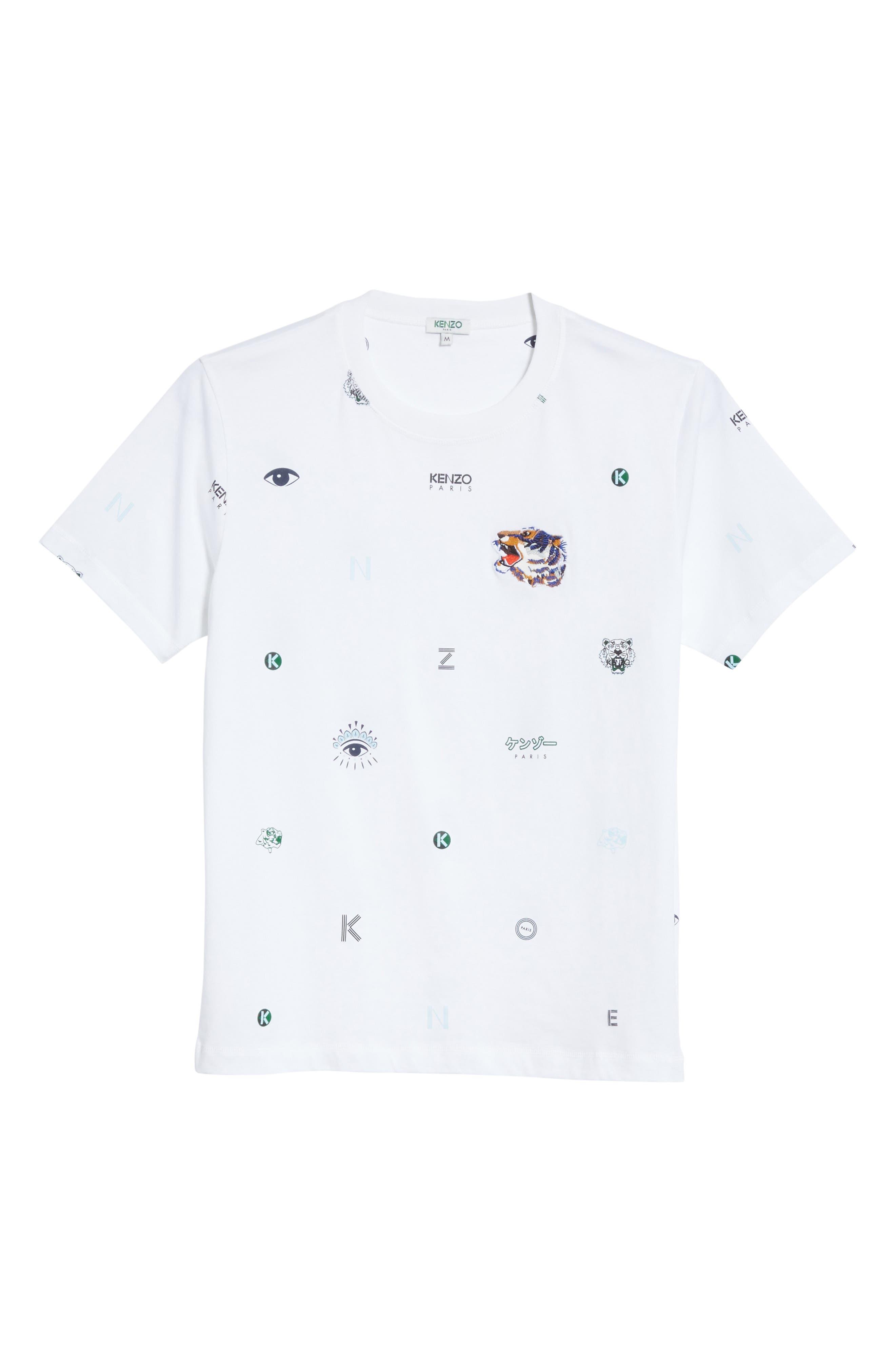 Ryuichi Sakamoto Graphic T-Shirt,                             Alternate thumbnail 6, color,                             100