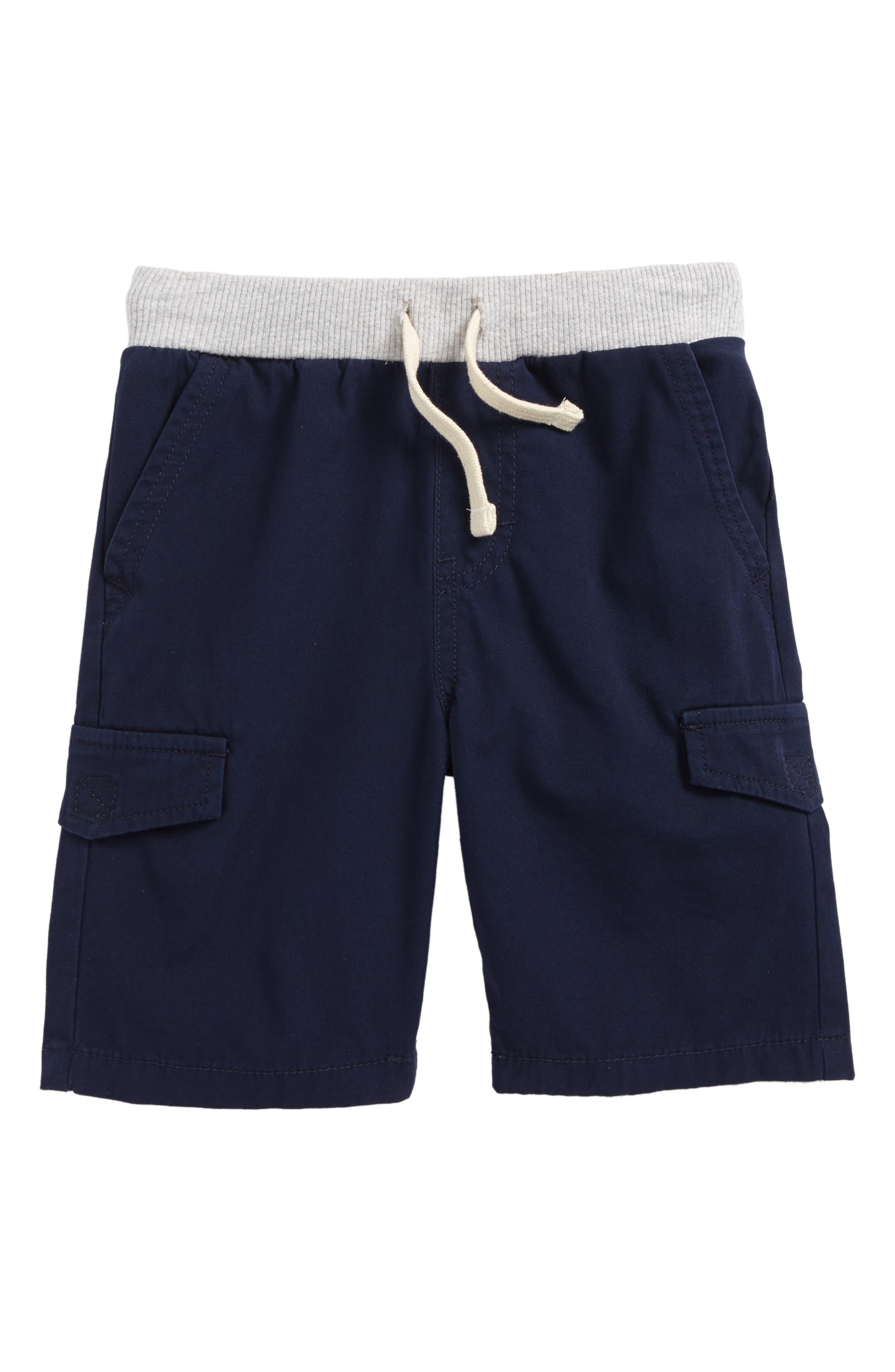 Ribbed Waist Utility Shorts,                             Main thumbnail 1, color,                             411