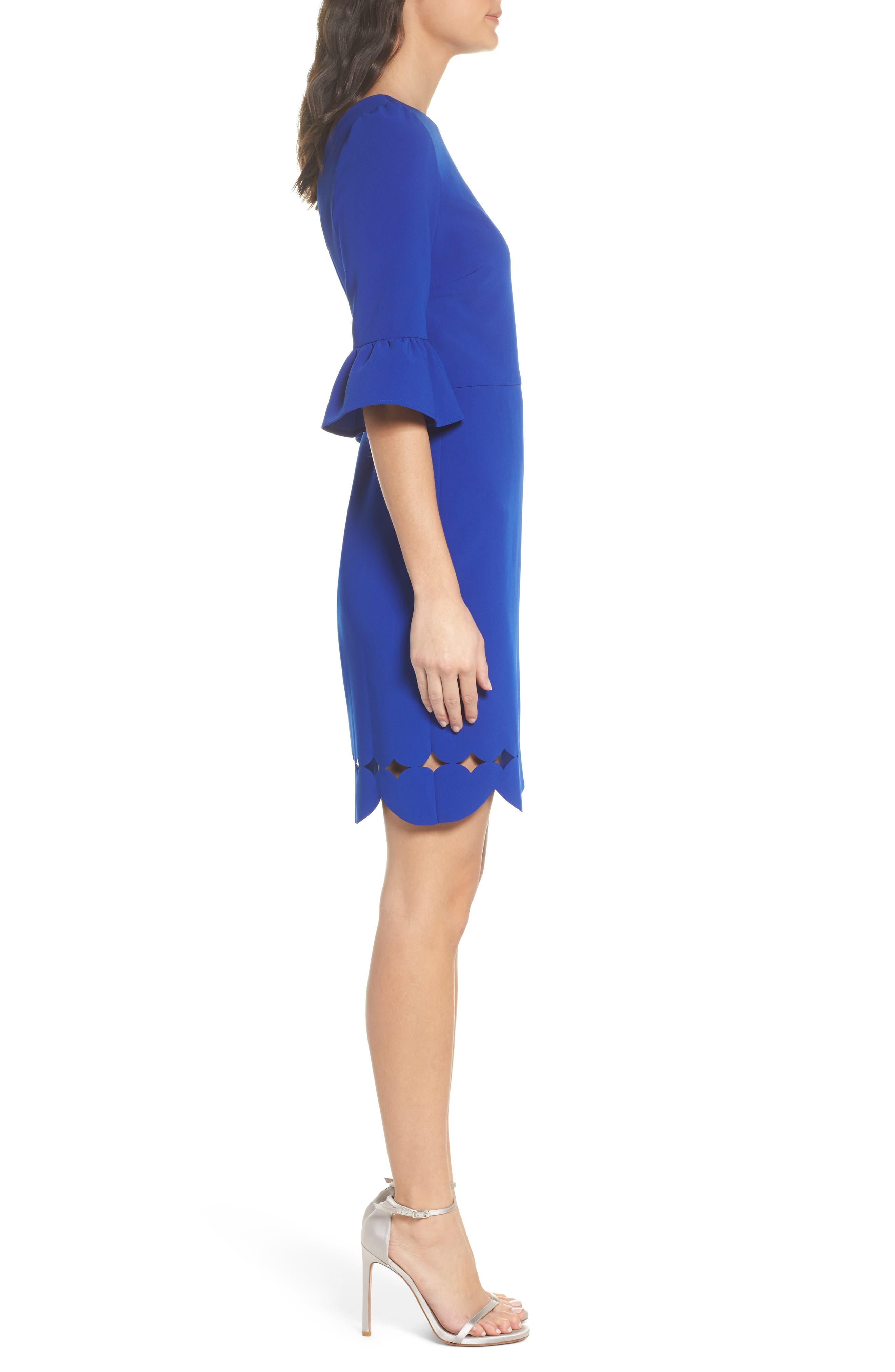 Blair Sheath Dress,                             Alternate thumbnail 3, color,                             400