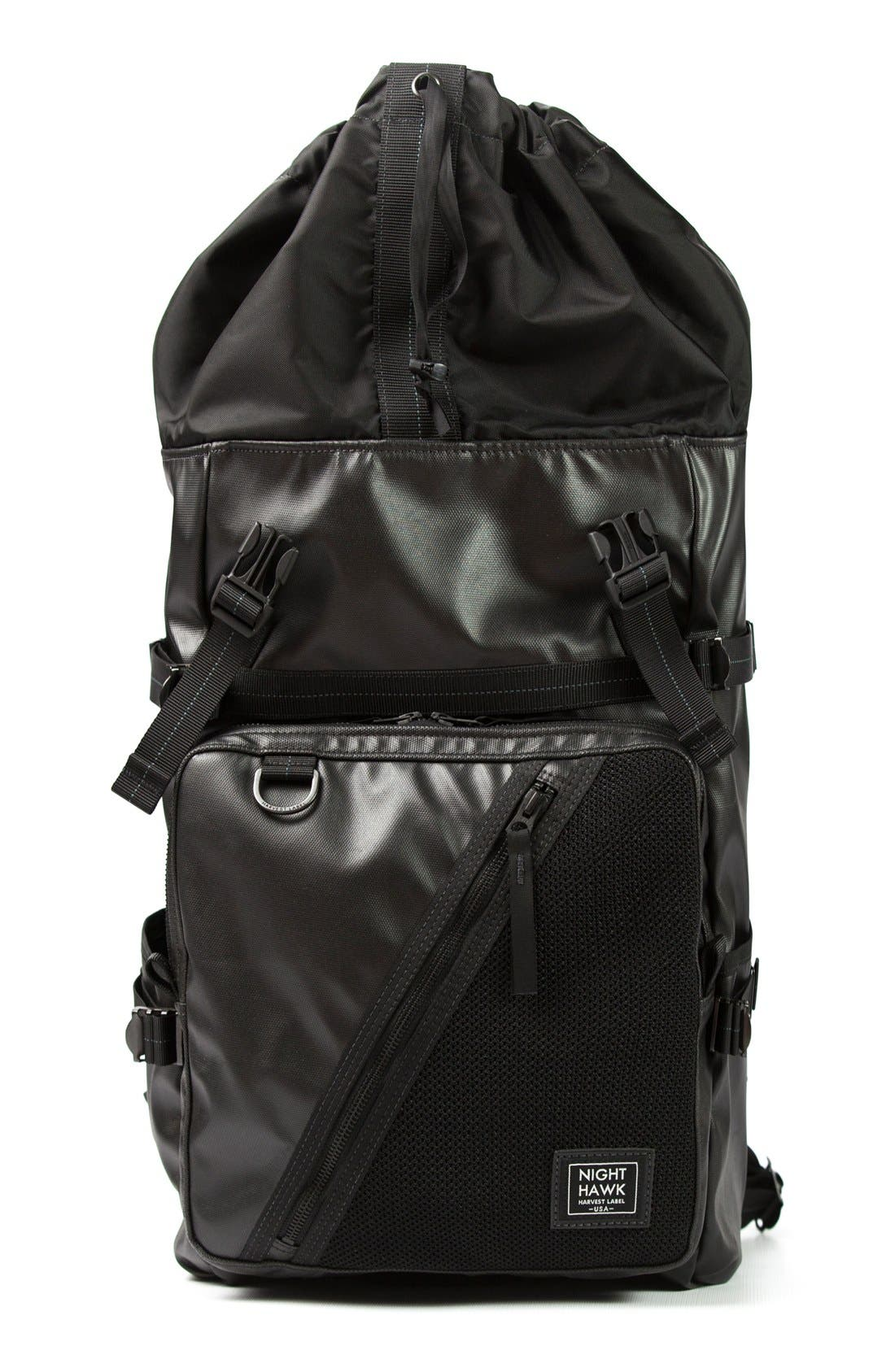 'NightHawk' Backpack,                             Alternate thumbnail 2, color,                             BLACK