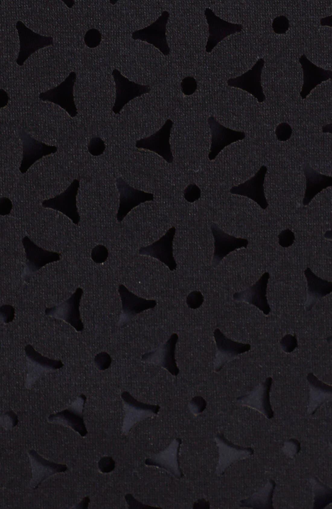 Laser Cut Cover-Up Tank Dress,                             Alternate thumbnail 2, color,                             001