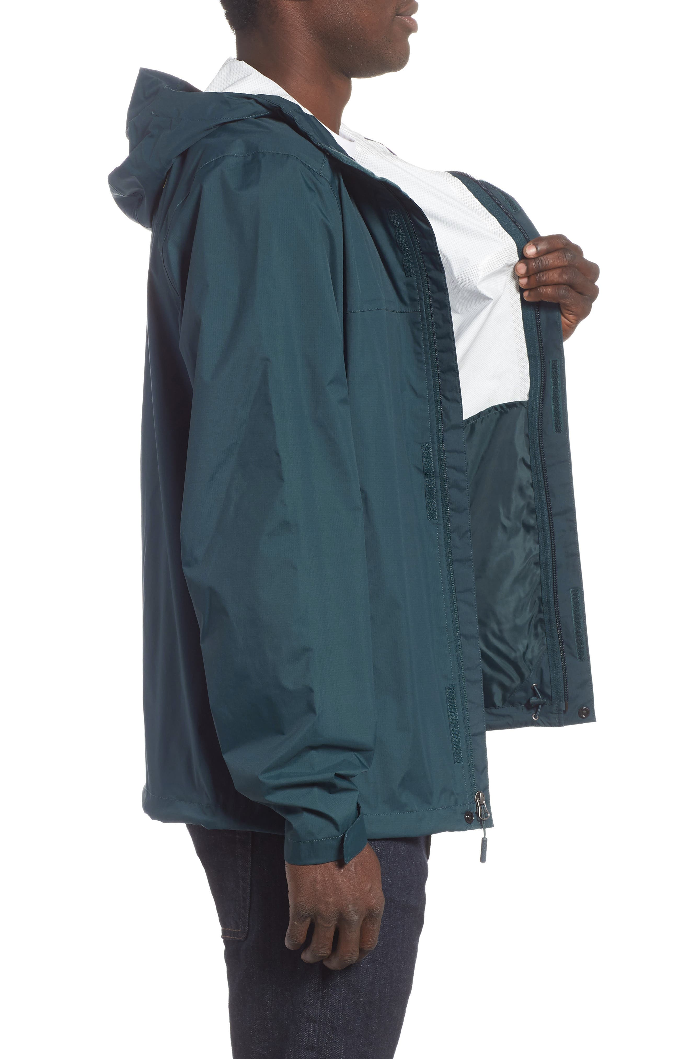 THE NORTH FACE,                             Venture II Raincoat,                             Alternate thumbnail 4, color,                             KODIAK BLUE/ KODIAK BLUE