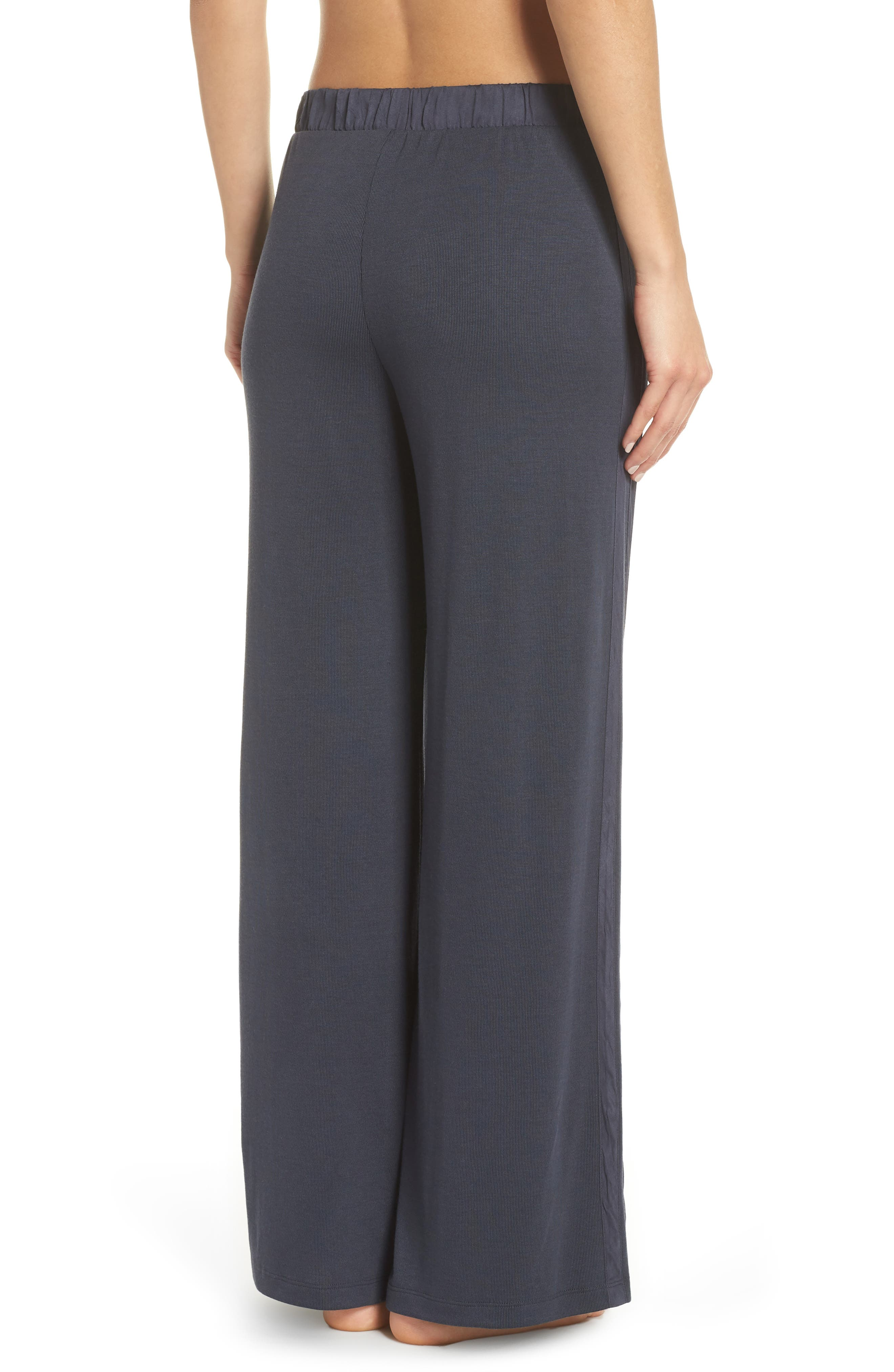 Ribbed Lounge Pants,                             Alternate thumbnail 2, color,                             DYNASTY