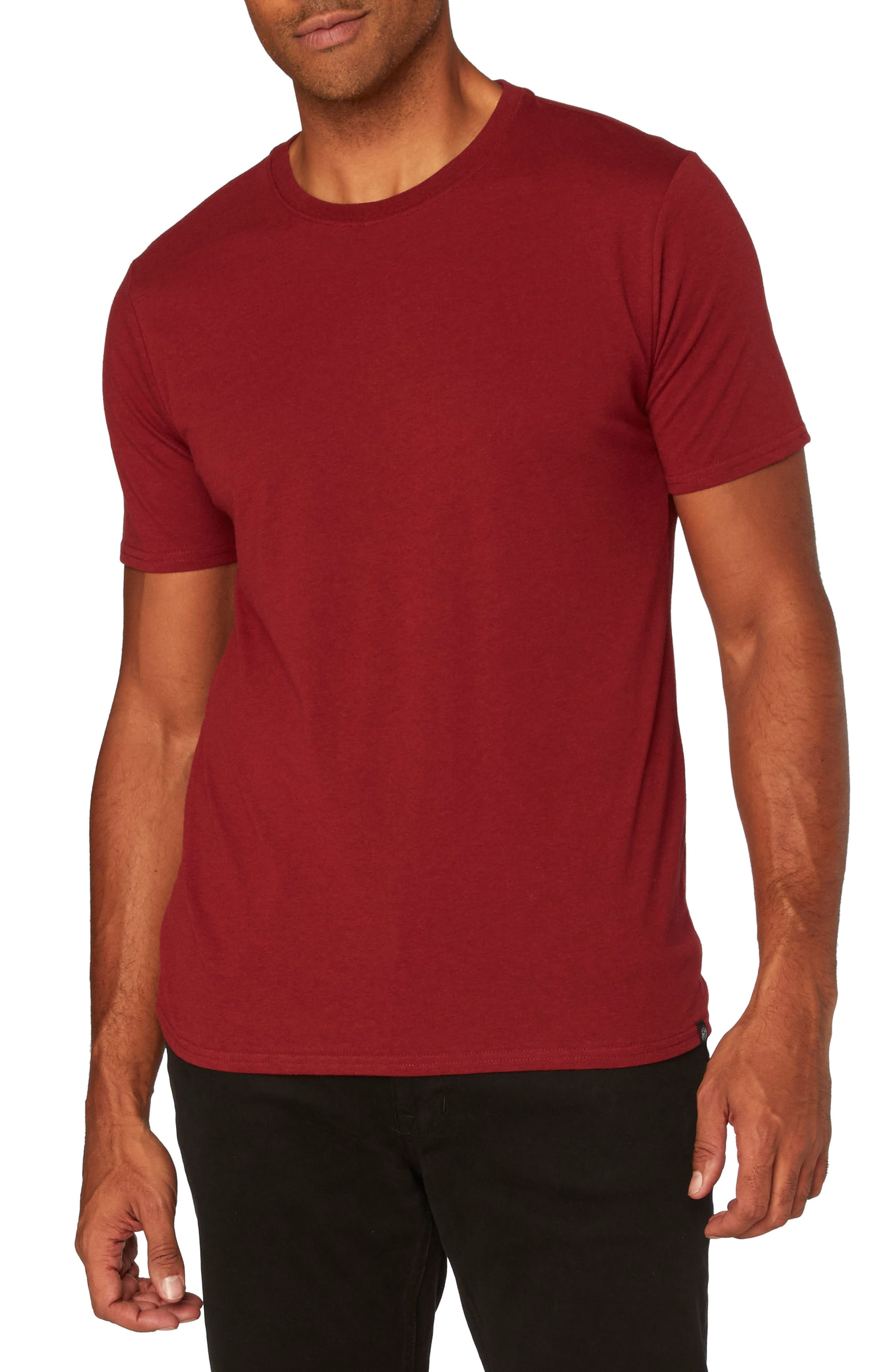Threads for Thought Heathered Crew Neck,                             Main thumbnail 8, color,