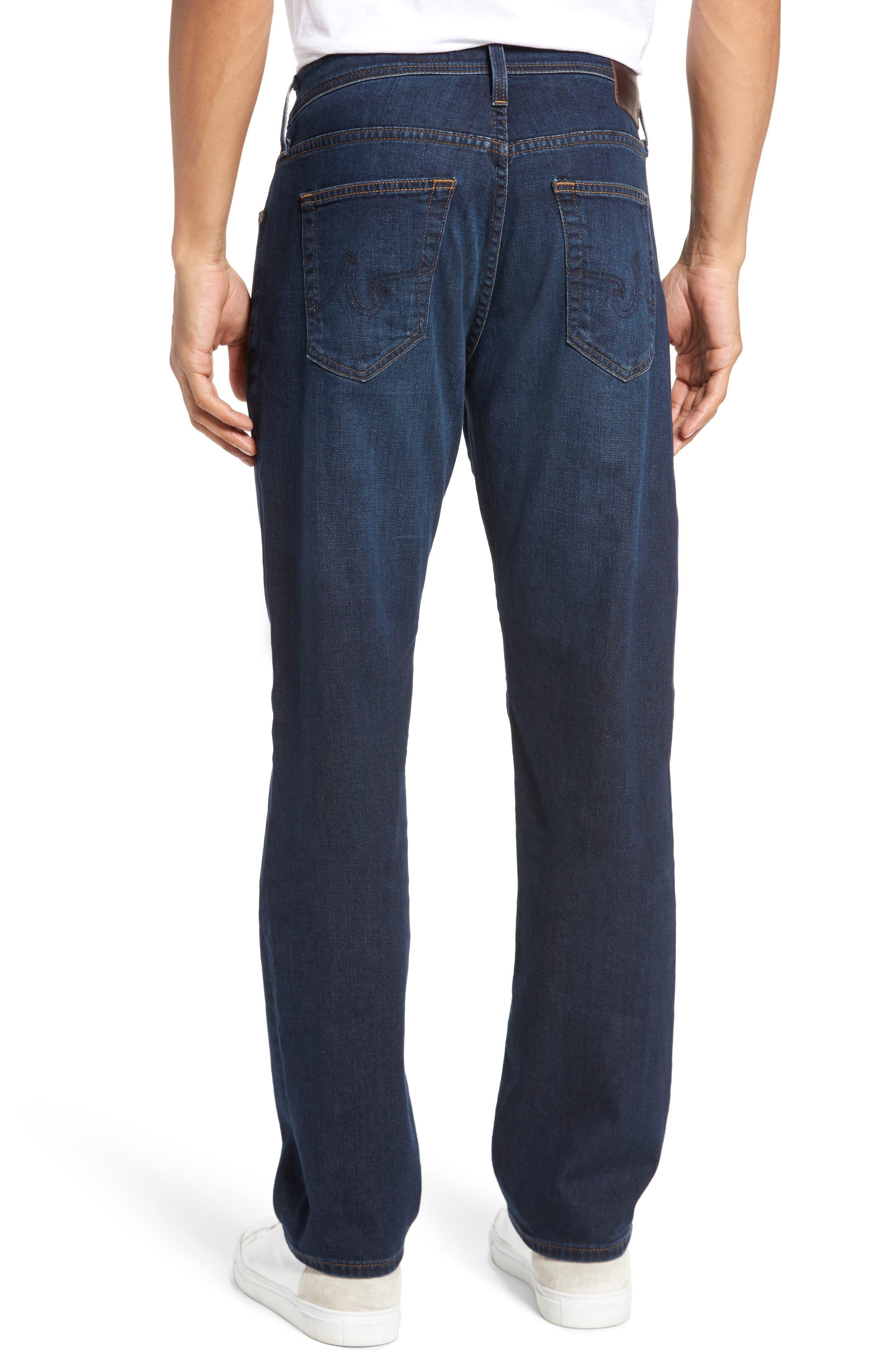 Everett Slim Straight Fit Jeans,                             Alternate thumbnail 2, color,                             WITNESS