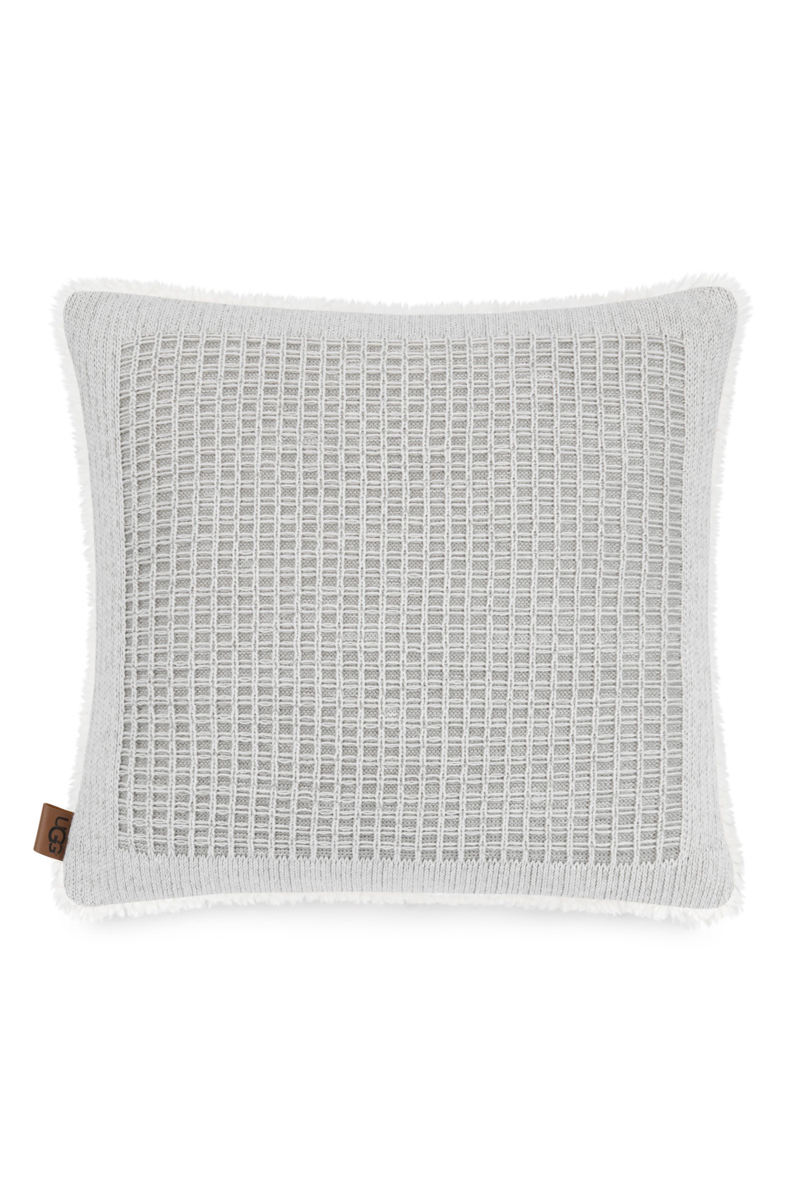 UGG<SUP>®</SUP>,                             Martin Knit Accent Pillow,                             Main thumbnail 1, color,                             020