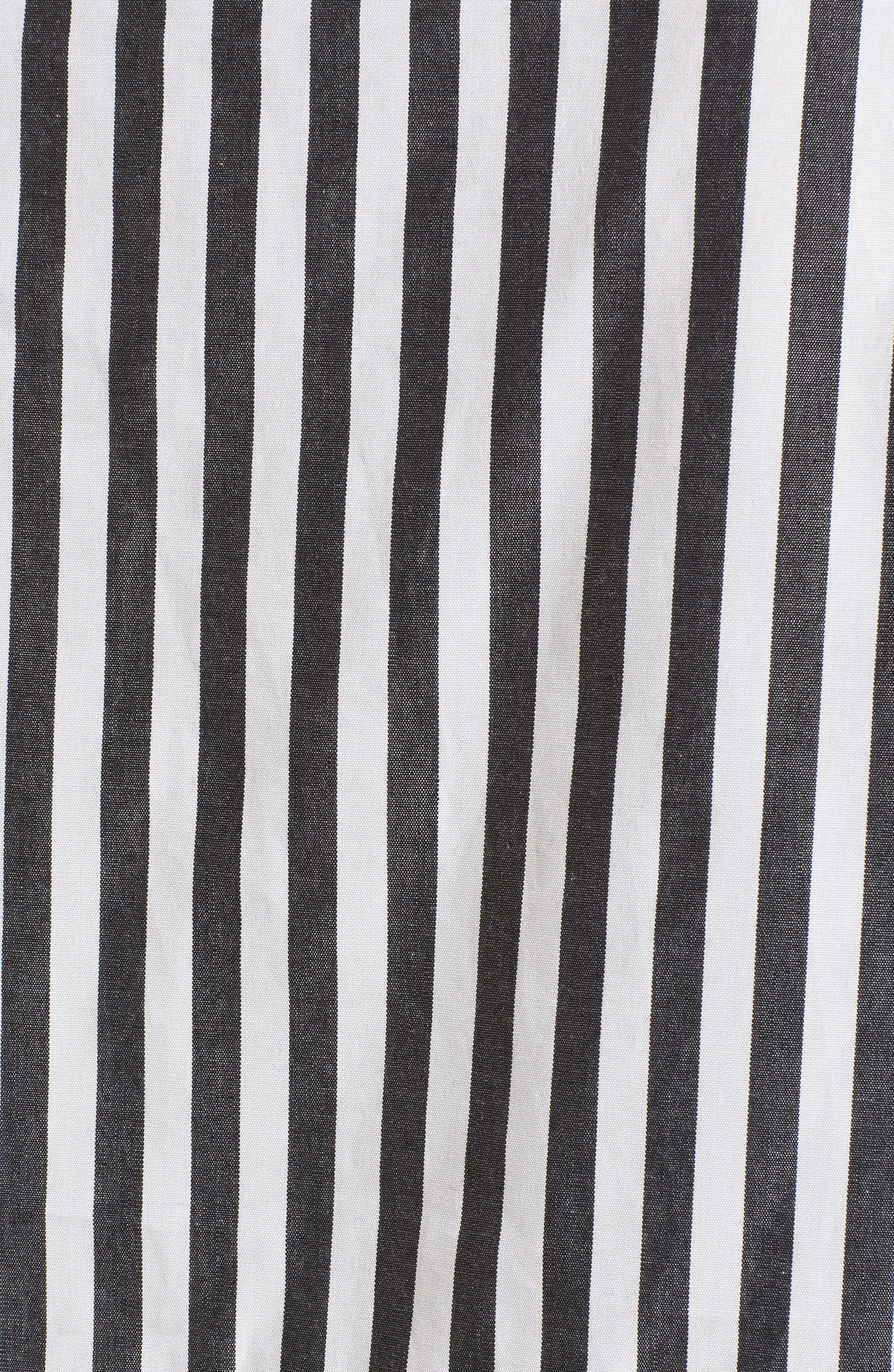 Famke Stripe Blouse,                             Alternate thumbnail 5, color,                             015