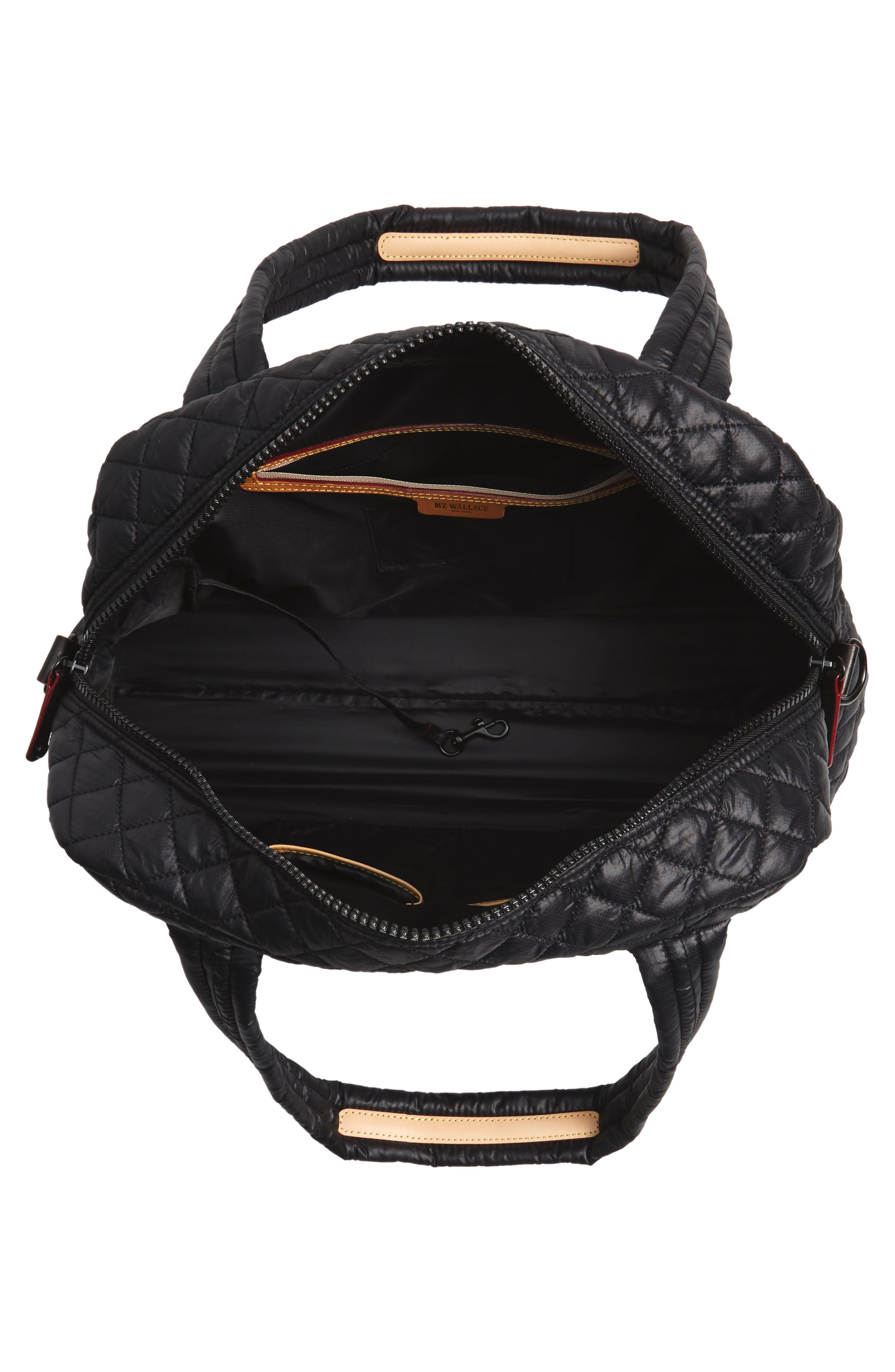 Jimmy Bag,                             Alternate thumbnail 4, color,                             BLACK OXFORD