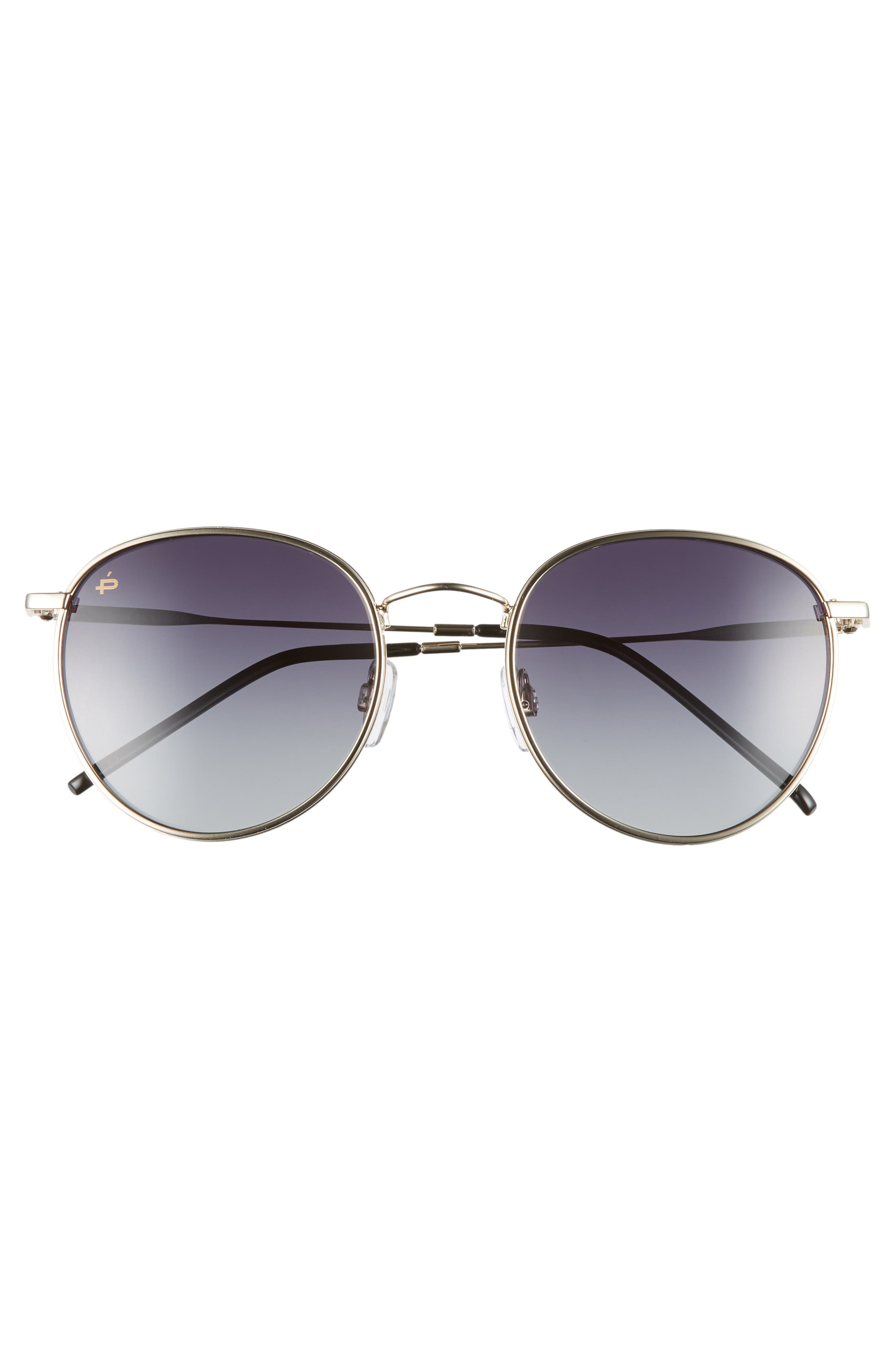 The Patriot 53mm Sunglasses,                             Alternate thumbnail 3, color,                             001
