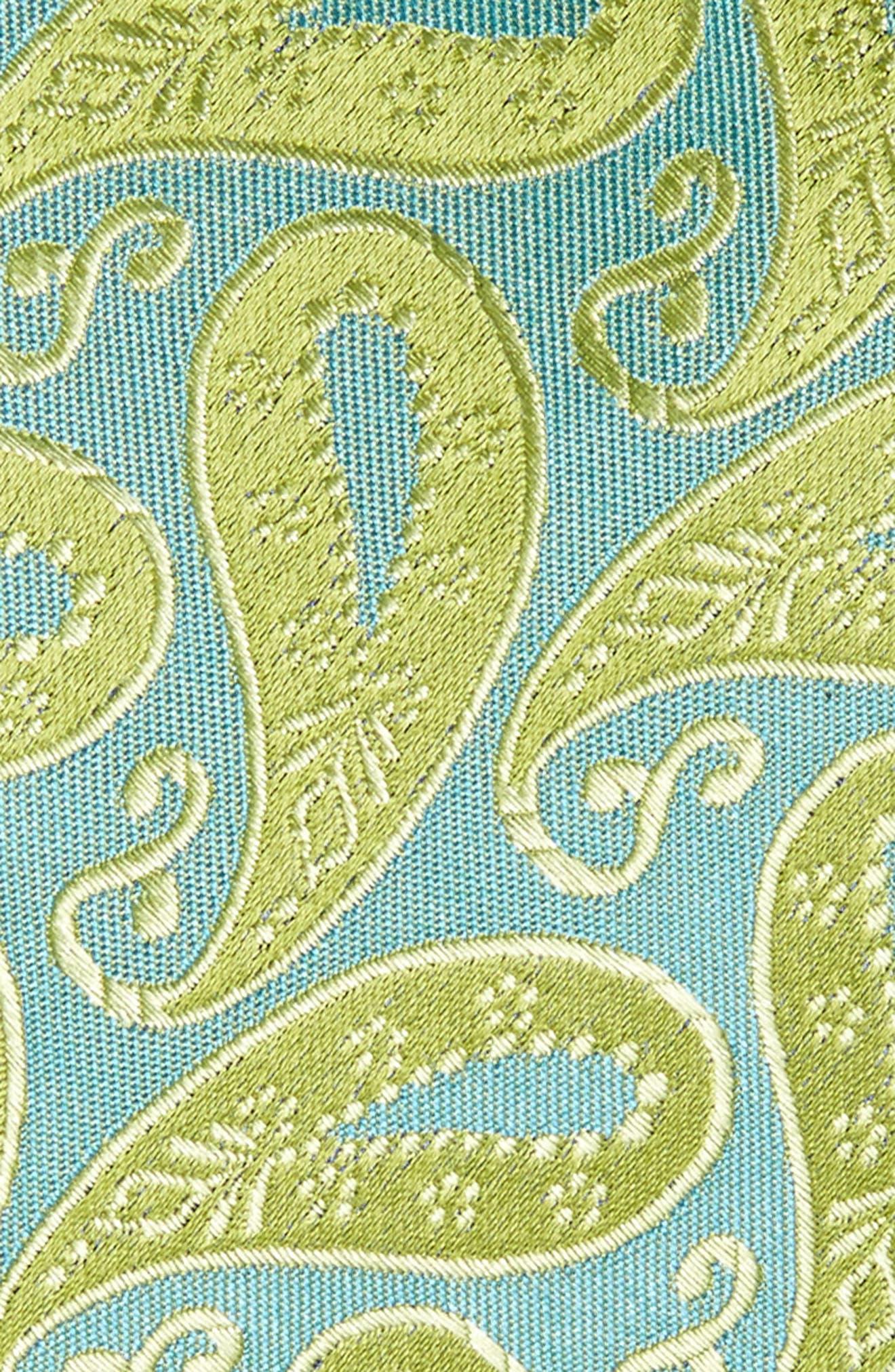 Modern Paisley Silk Tie,                             Alternate thumbnail 2, color,                             322