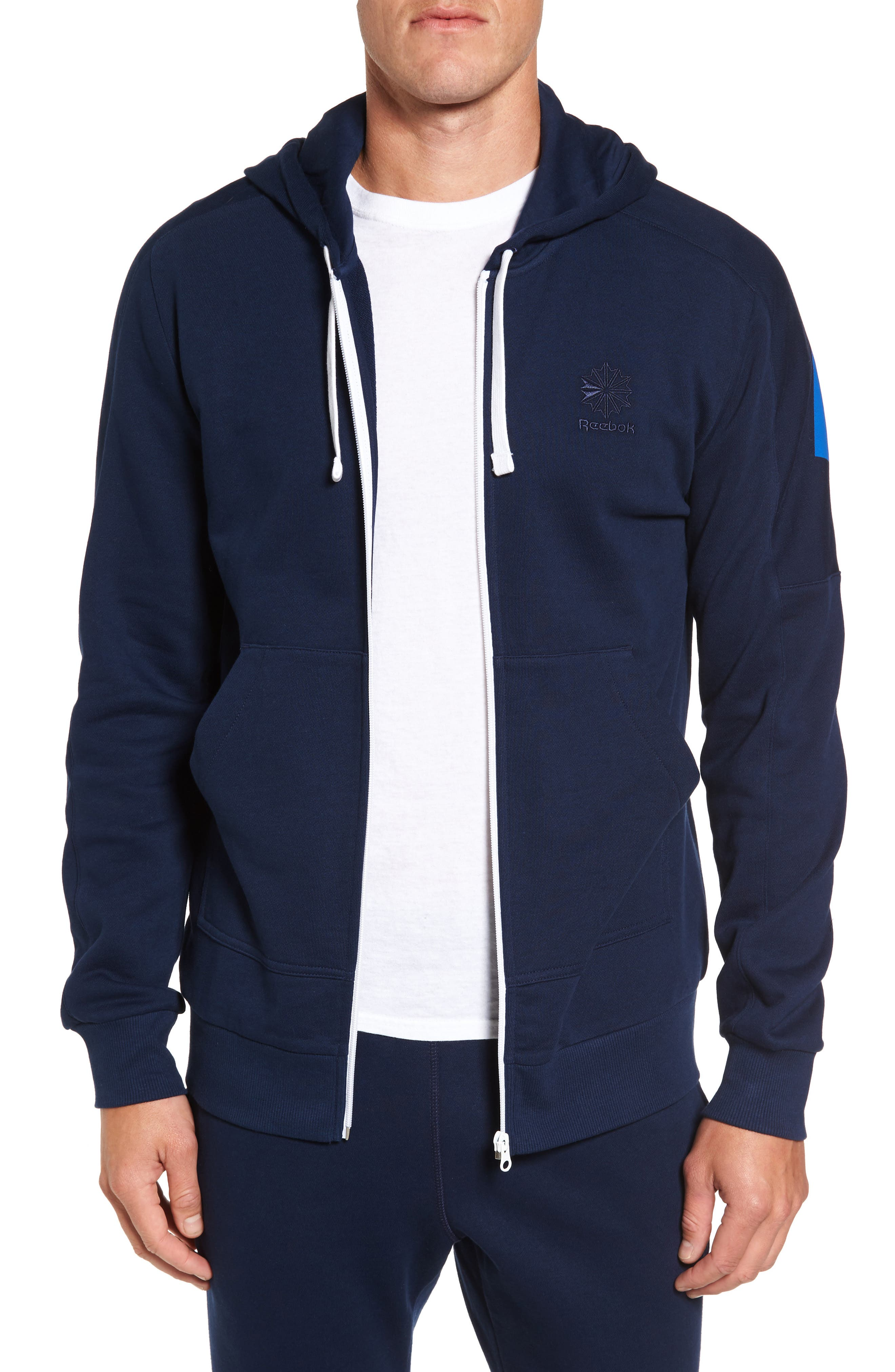 Classic Graphic Zip Hoodie,                             Main thumbnail 2, color,