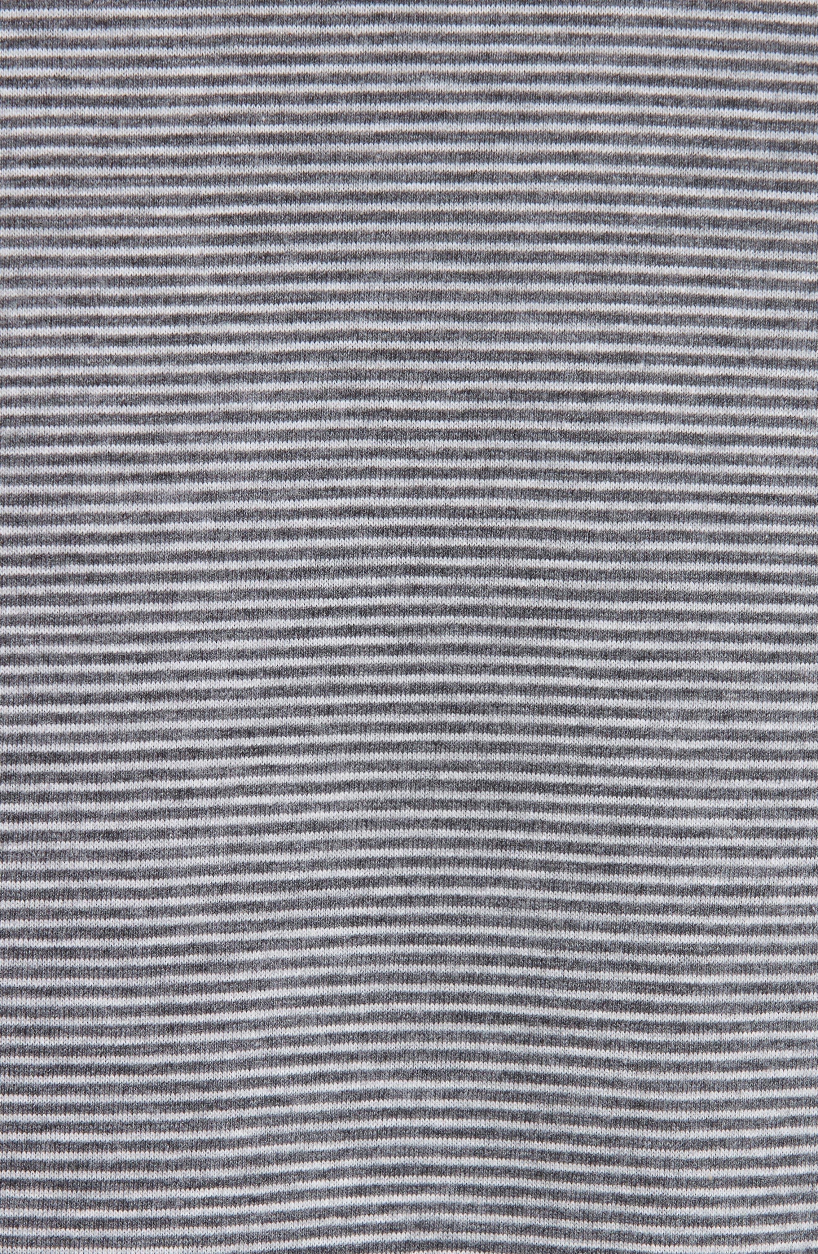 Keanu Striped Pocket T-Shirt,                             Alternate thumbnail 5, color,                             PLA GRIS
