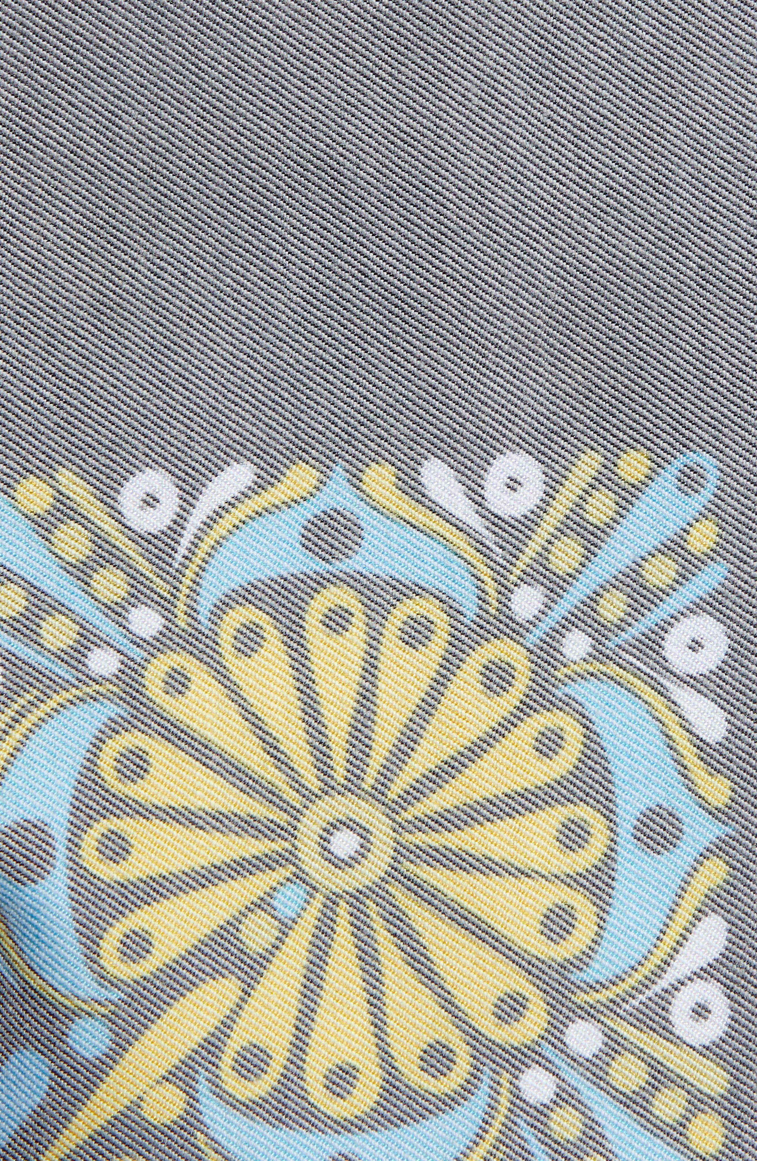 Phantom Block Party Hideaway Board Shorts,                             Alternate thumbnail 5, color,                             BLACK