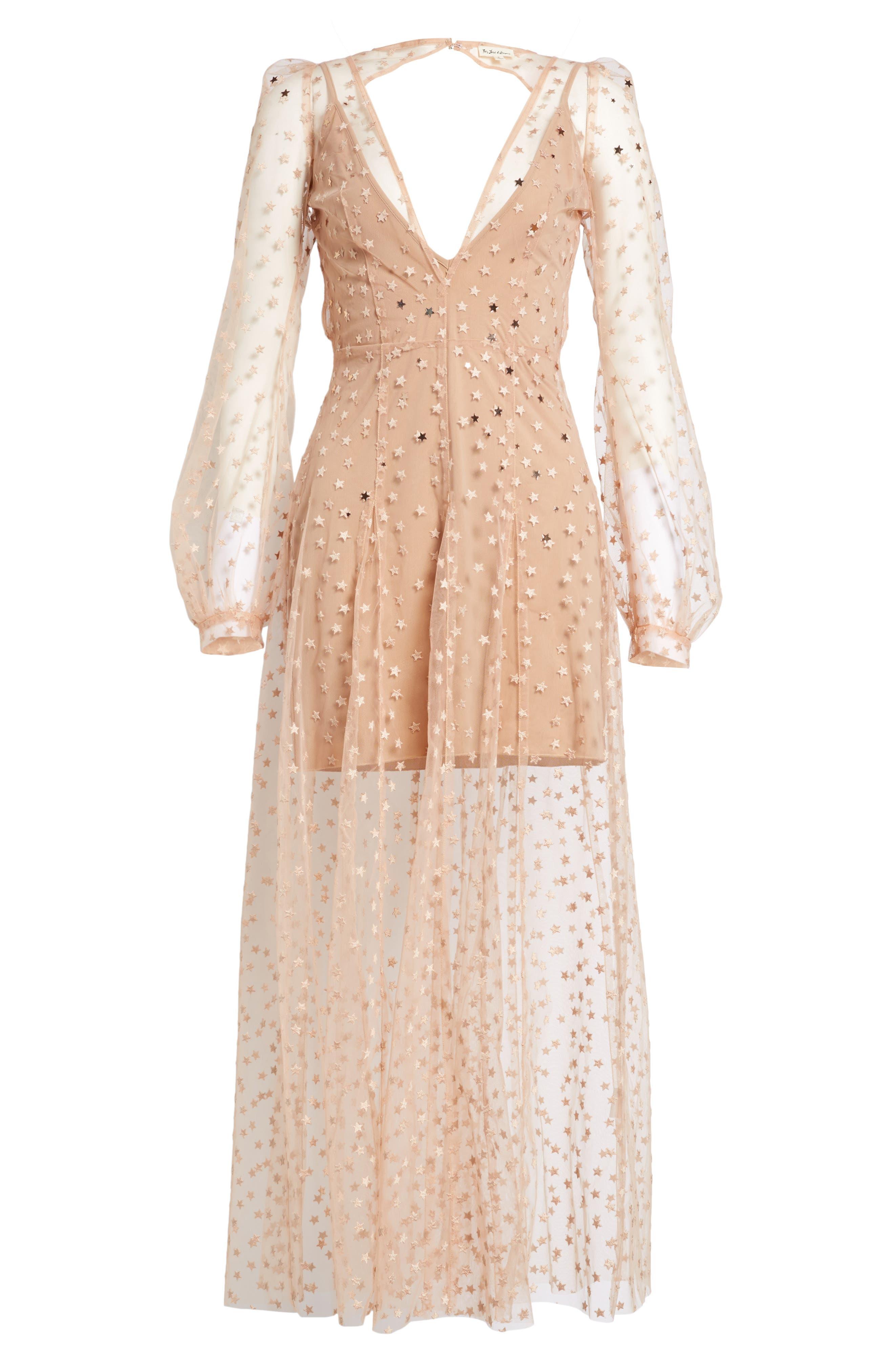 All That Glitters Midi Dress,                             Alternate thumbnail 6, color,